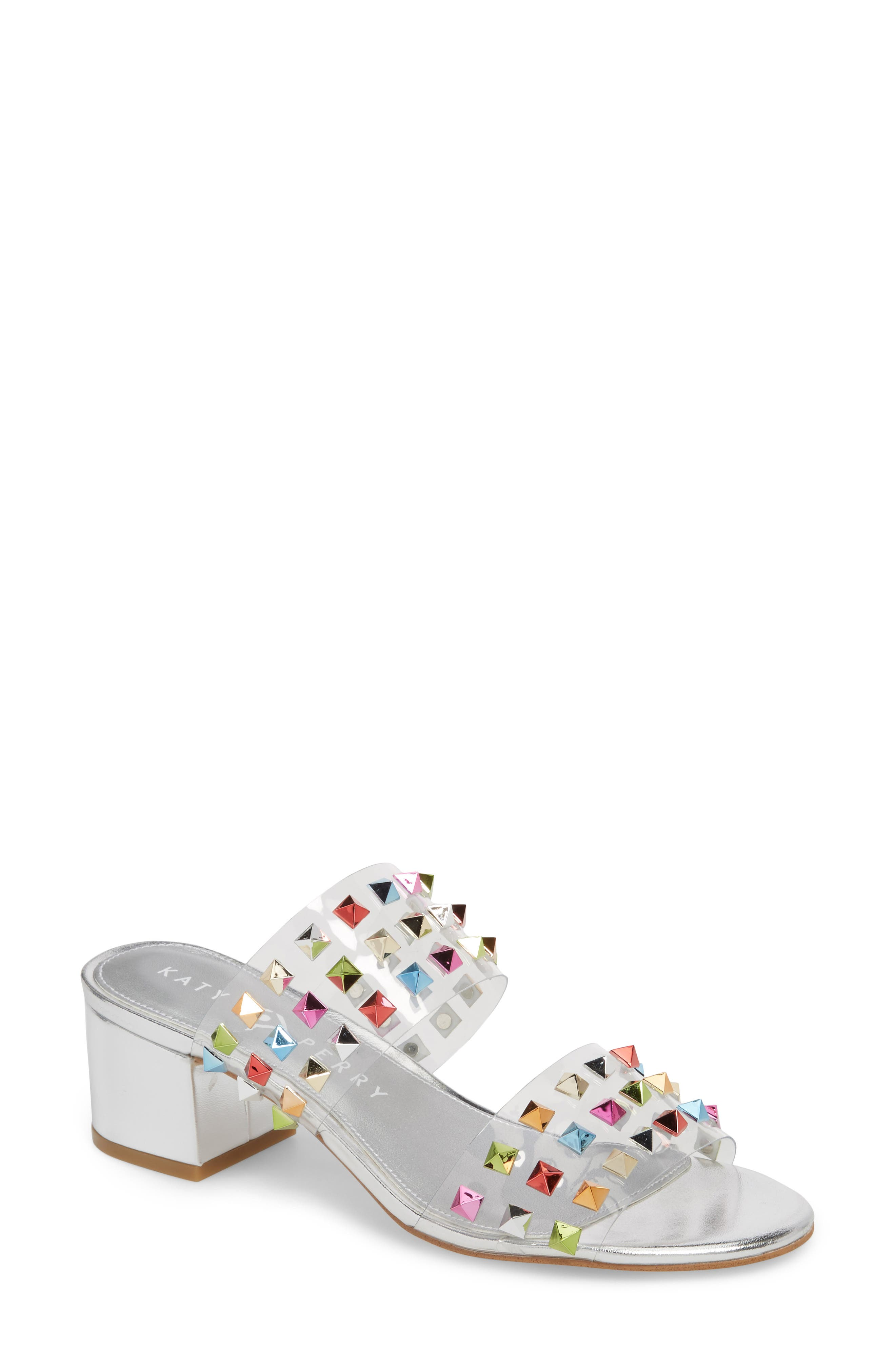Katy Perry The Kenzie Studded Sandal (Women)