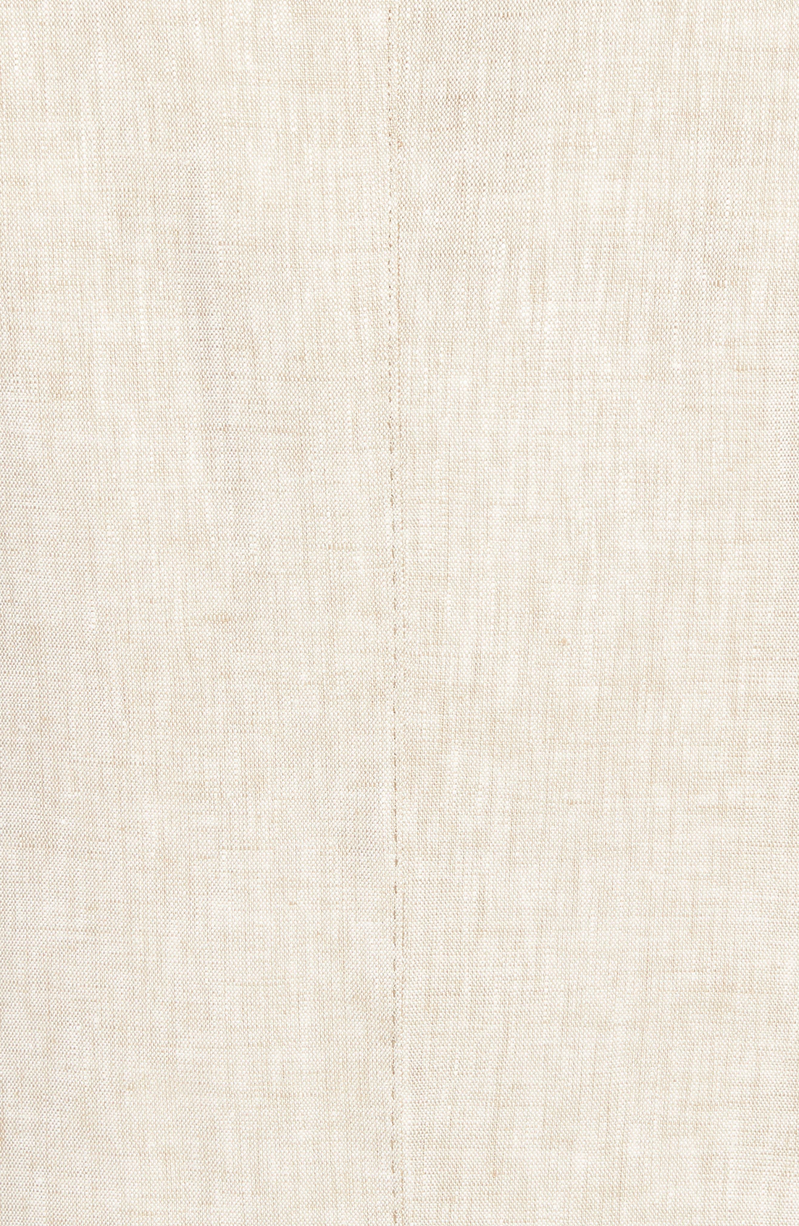 Jack AIM Classic Fit Linen Blazer,                             Alternate thumbnail 5, color,                             Natural