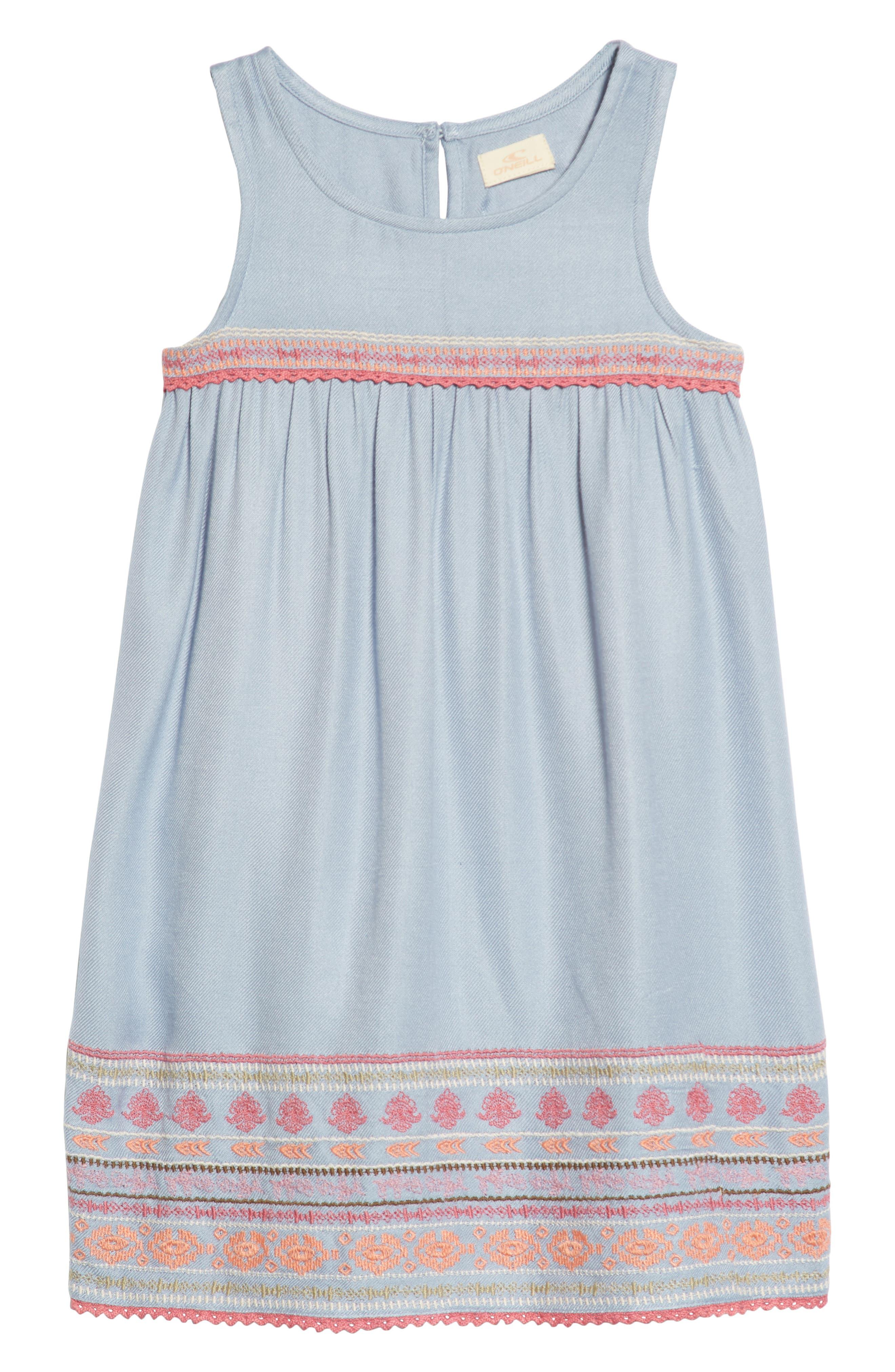 Dani Dress,                             Main thumbnail 1, color,                             Bleached Periwinkle