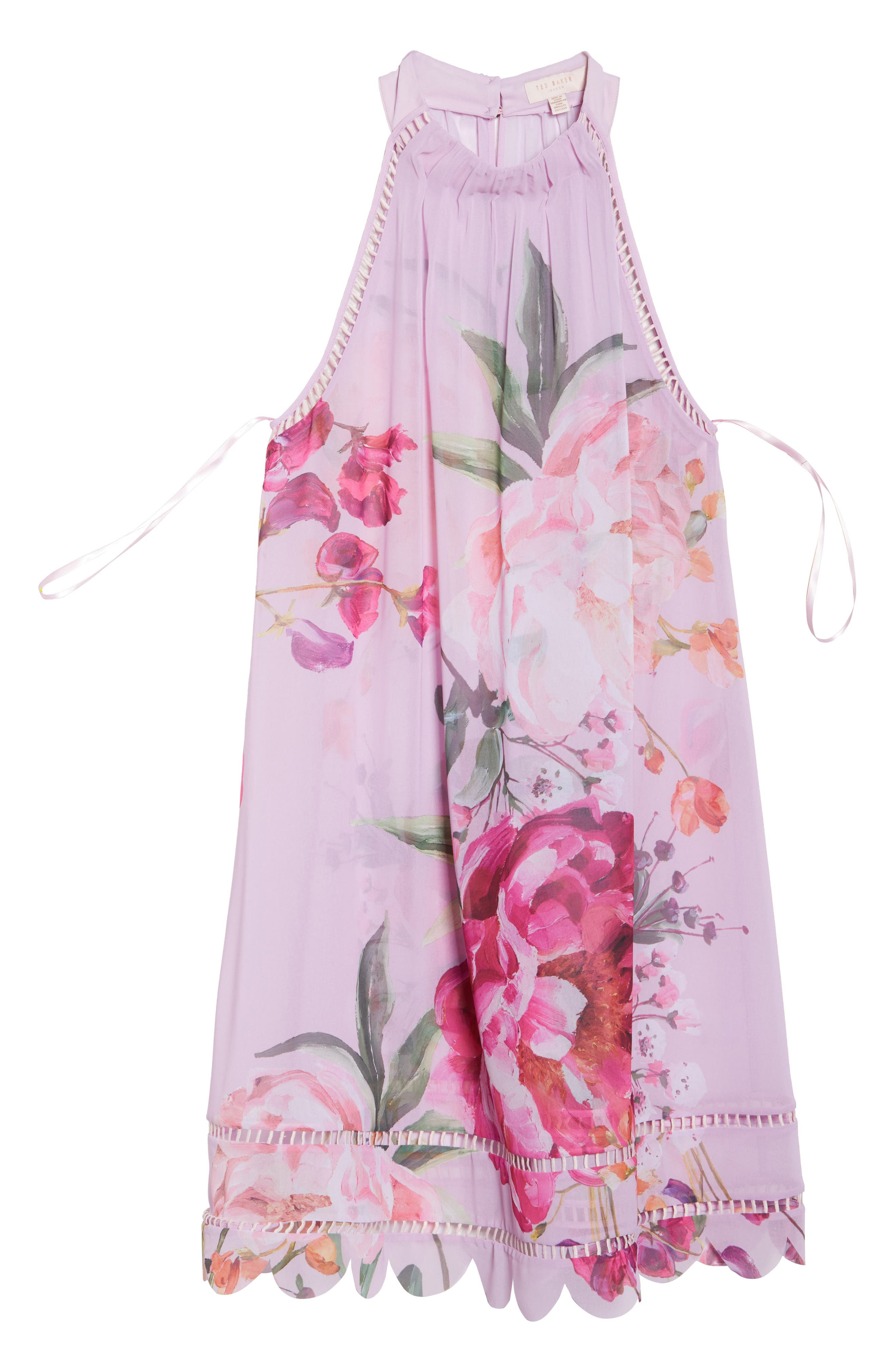 Serenity Scallop Cover-Up,                             Alternate thumbnail 6, color,                             Pale Pink