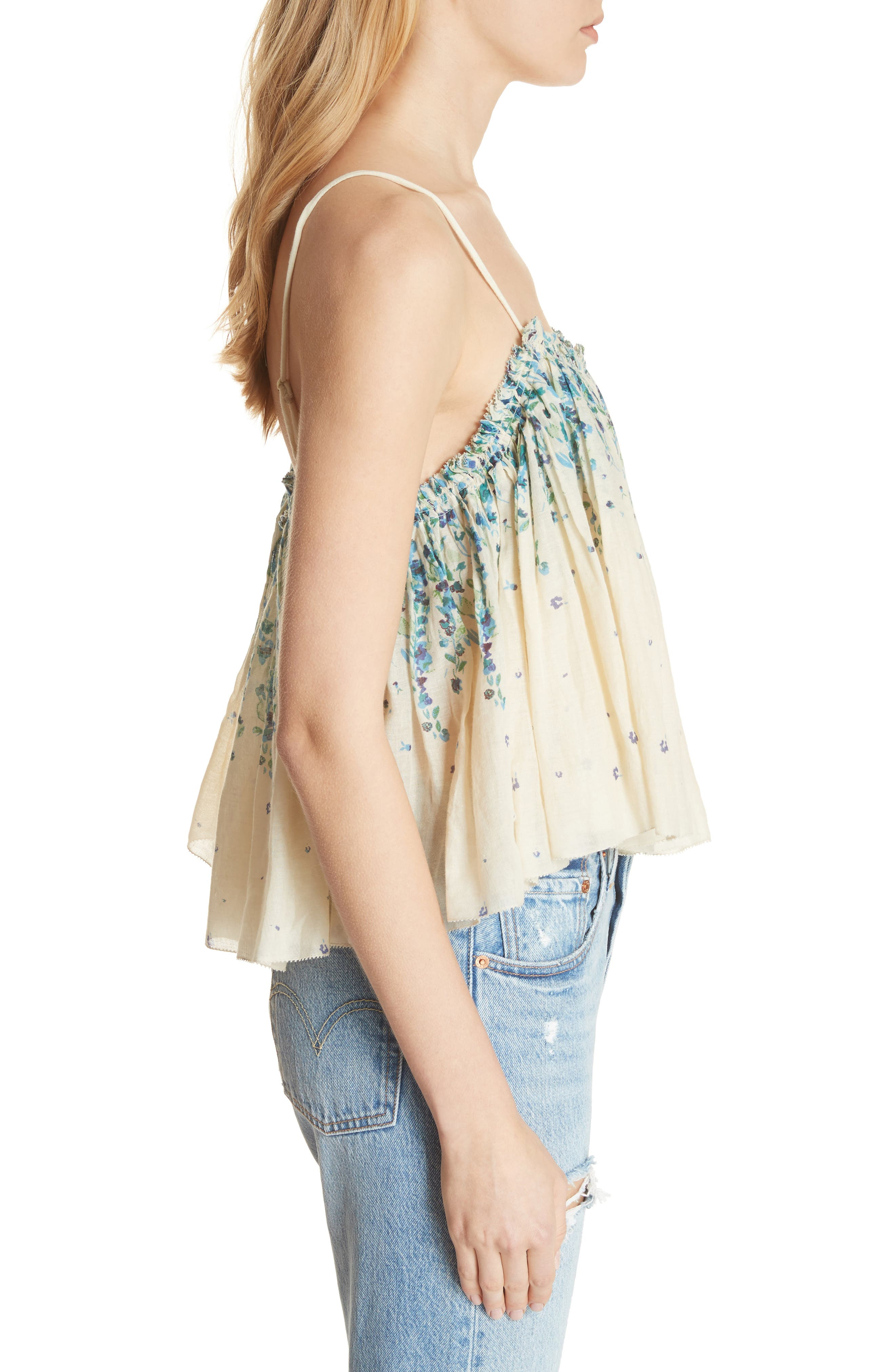 Instant Crush Camisole,                             Alternate thumbnail 3, color,                             Ivory