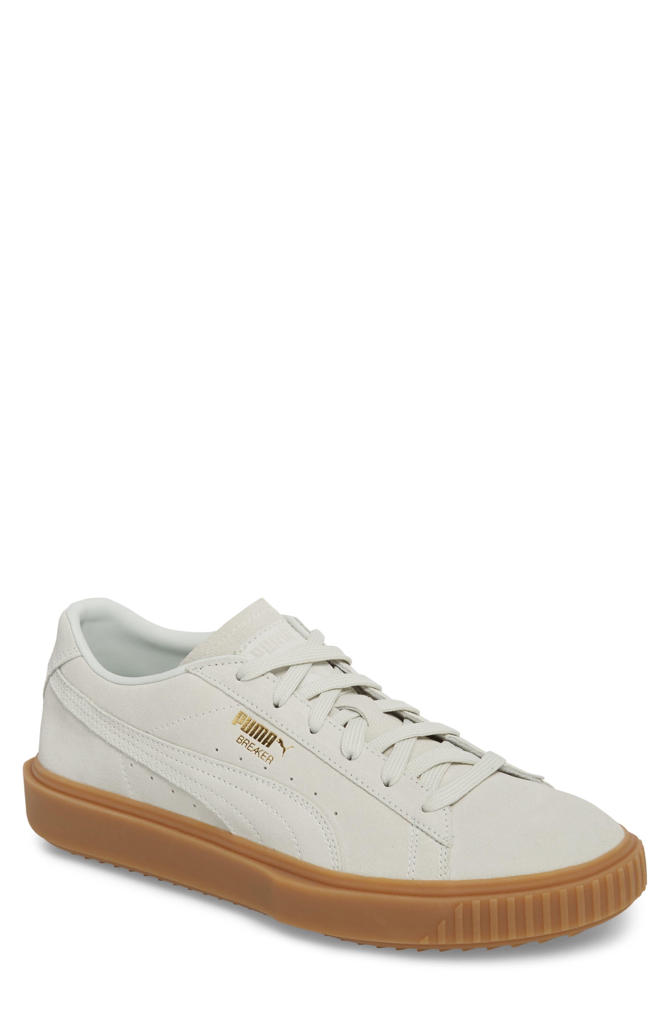 PUMA Breaker Suede Gum Low Top Sneaker (Men)