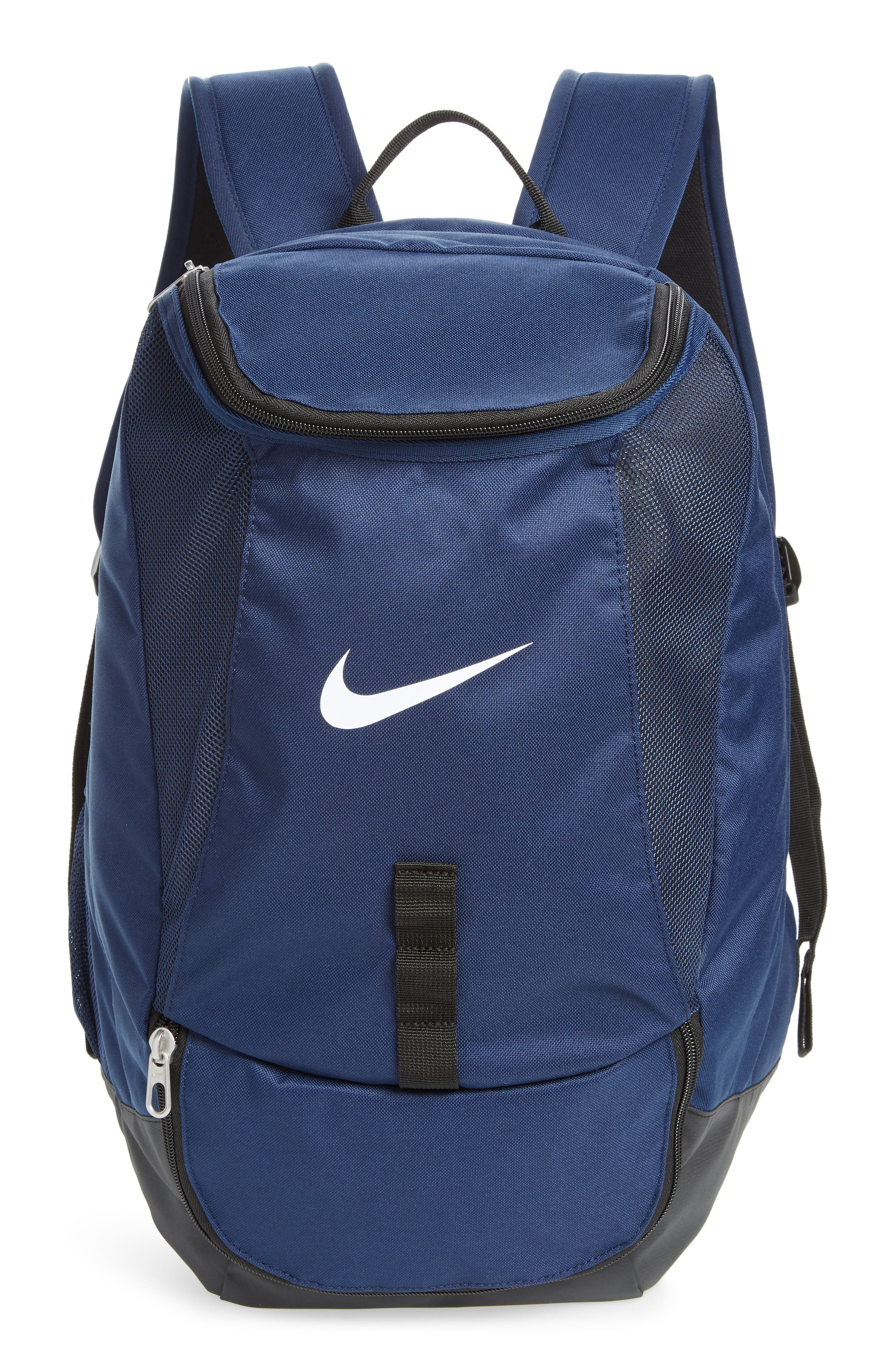 Club Team Backpack,                             Main thumbnail 1, color,                             Midnight Navy/ Black/ White