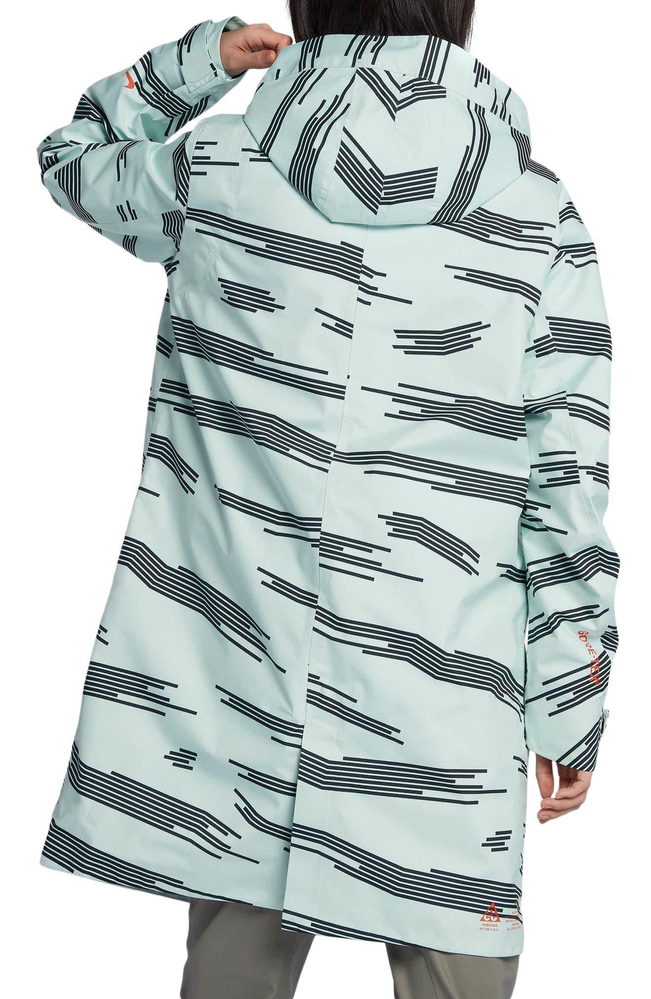 NikeLab ACG 3-in-1 System Women's Coat,                             Alternate thumbnail 3, color,                             Barely Green/ Black