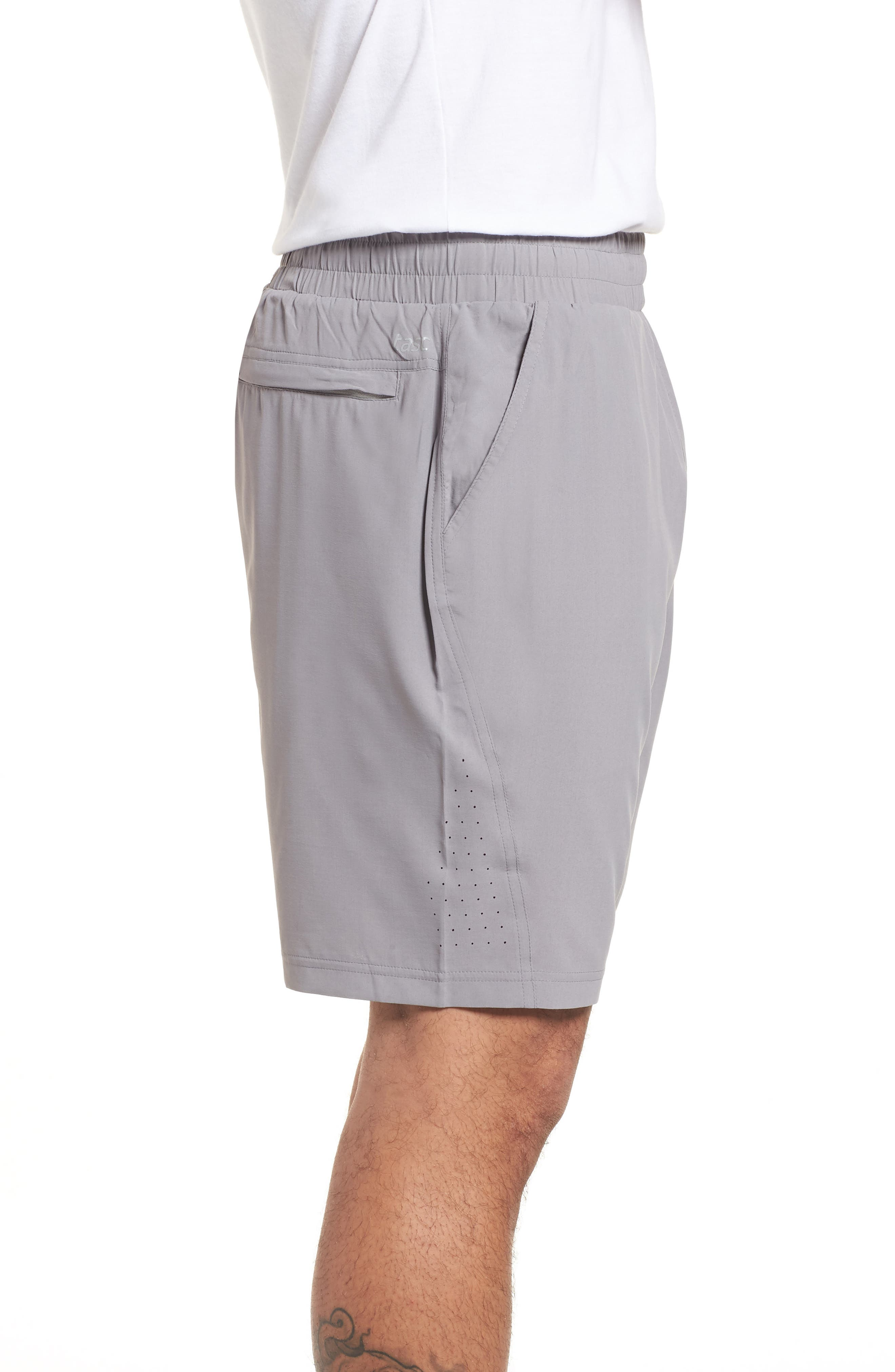 Alternate Image 3  - tasc Performance Charge Water Resistant Athletic Shorts