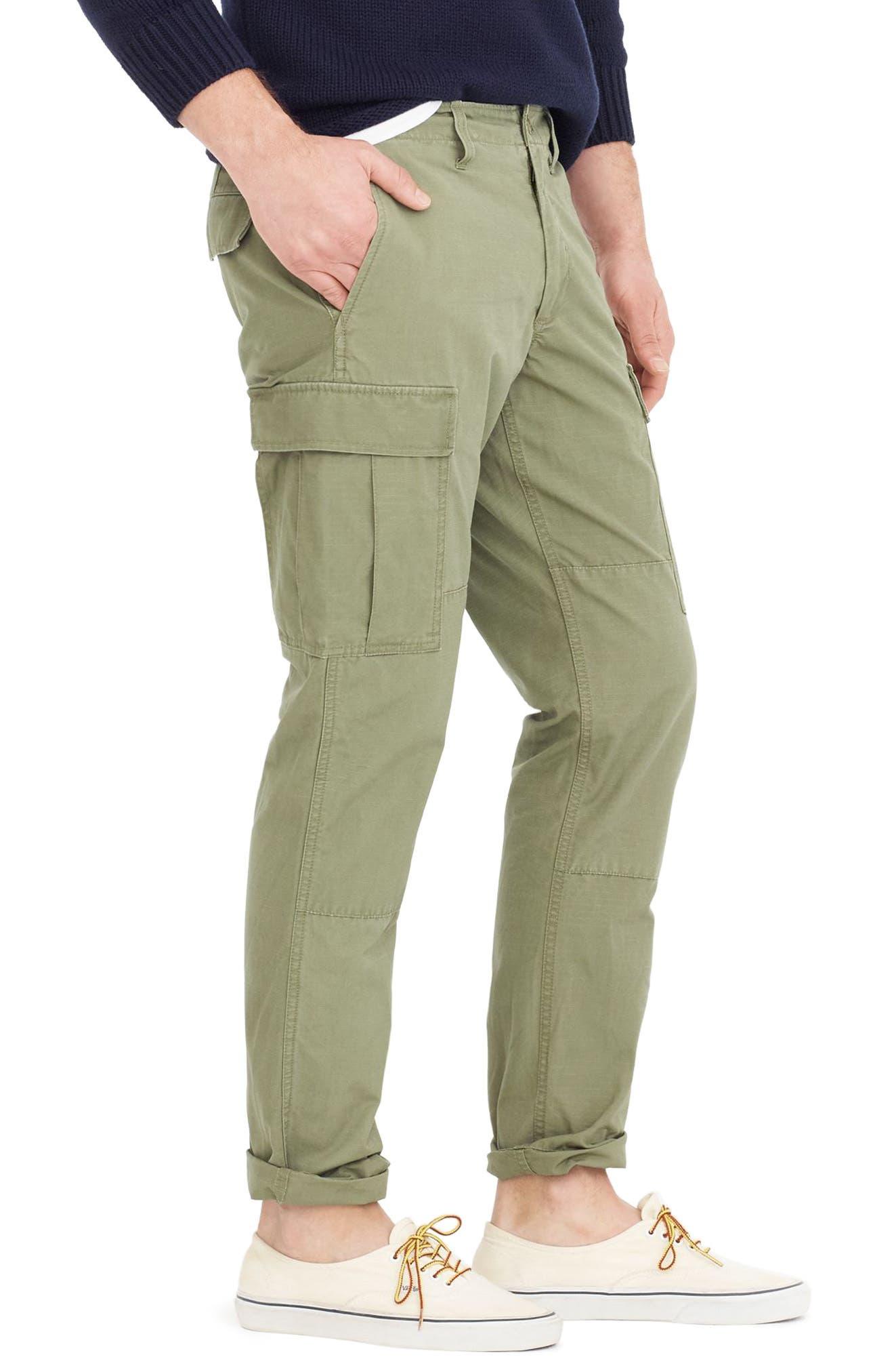 Alternate Image 3  - J.Crew 770 Straight Fit Ripstop Cargo Pants