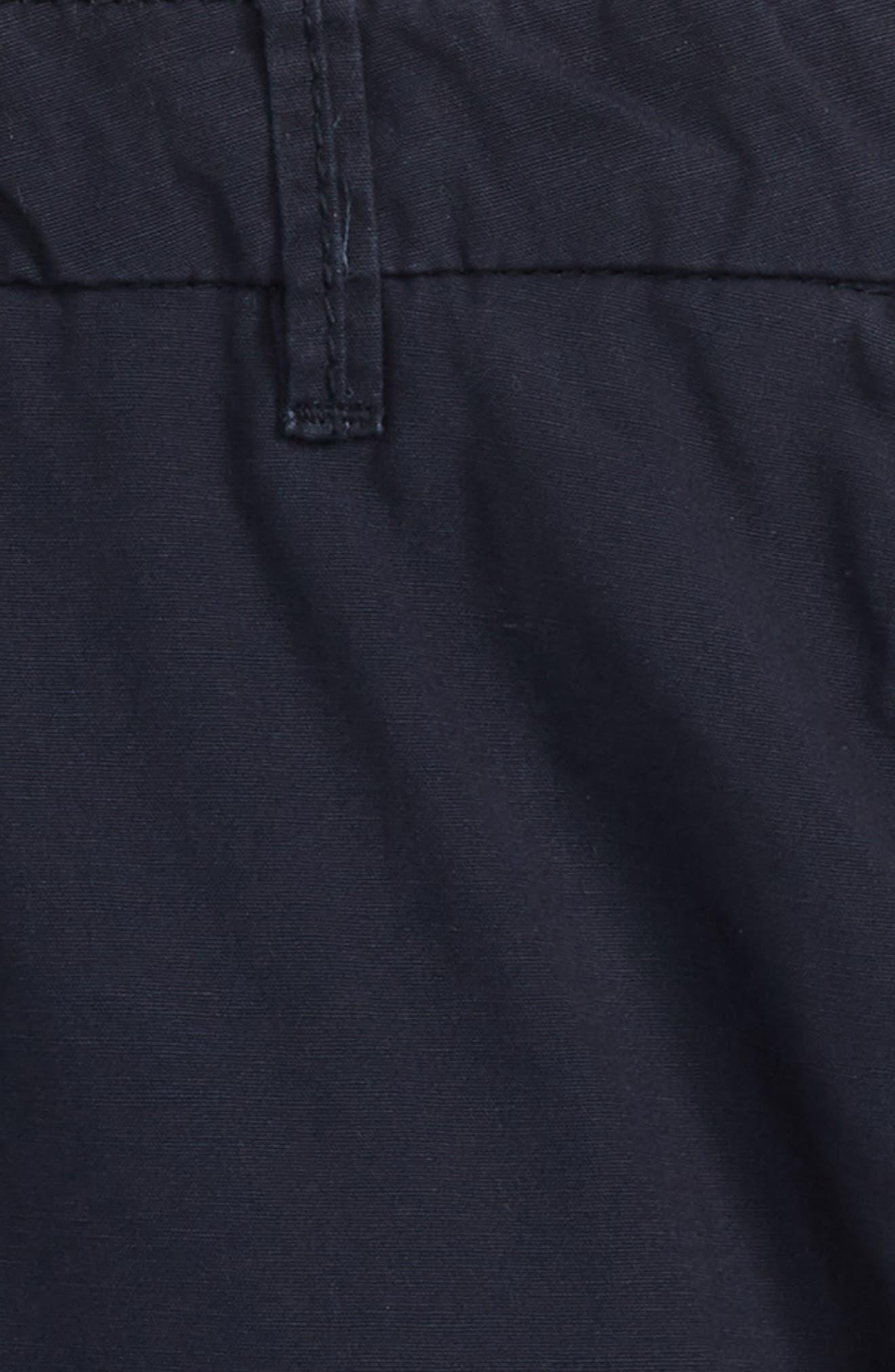 Poplin Shorts,                             Alternate thumbnail 2, color,                             Night