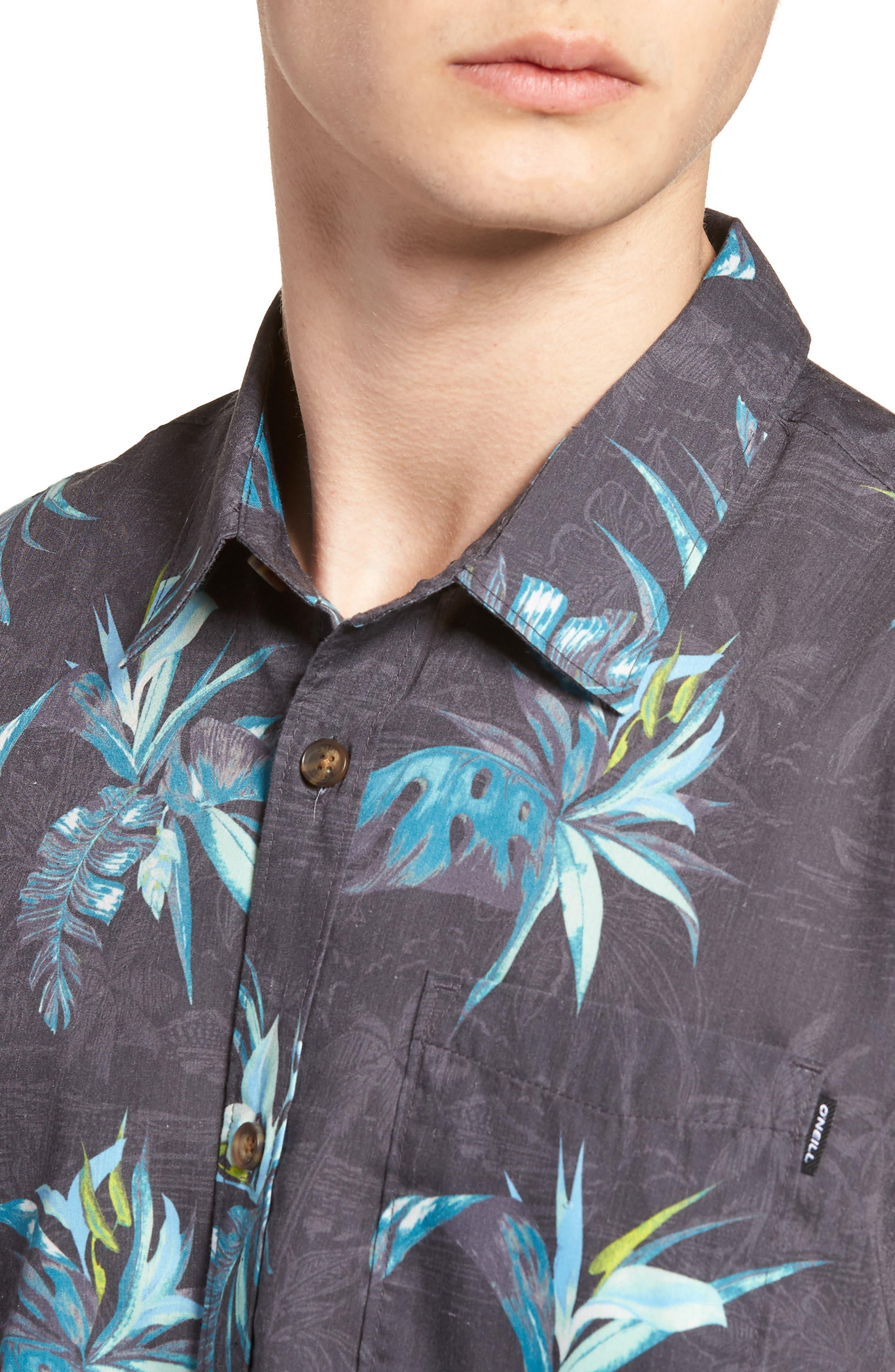 Islander Short Sleeve Shirt,                             Alternate thumbnail 4, color,                             Mint