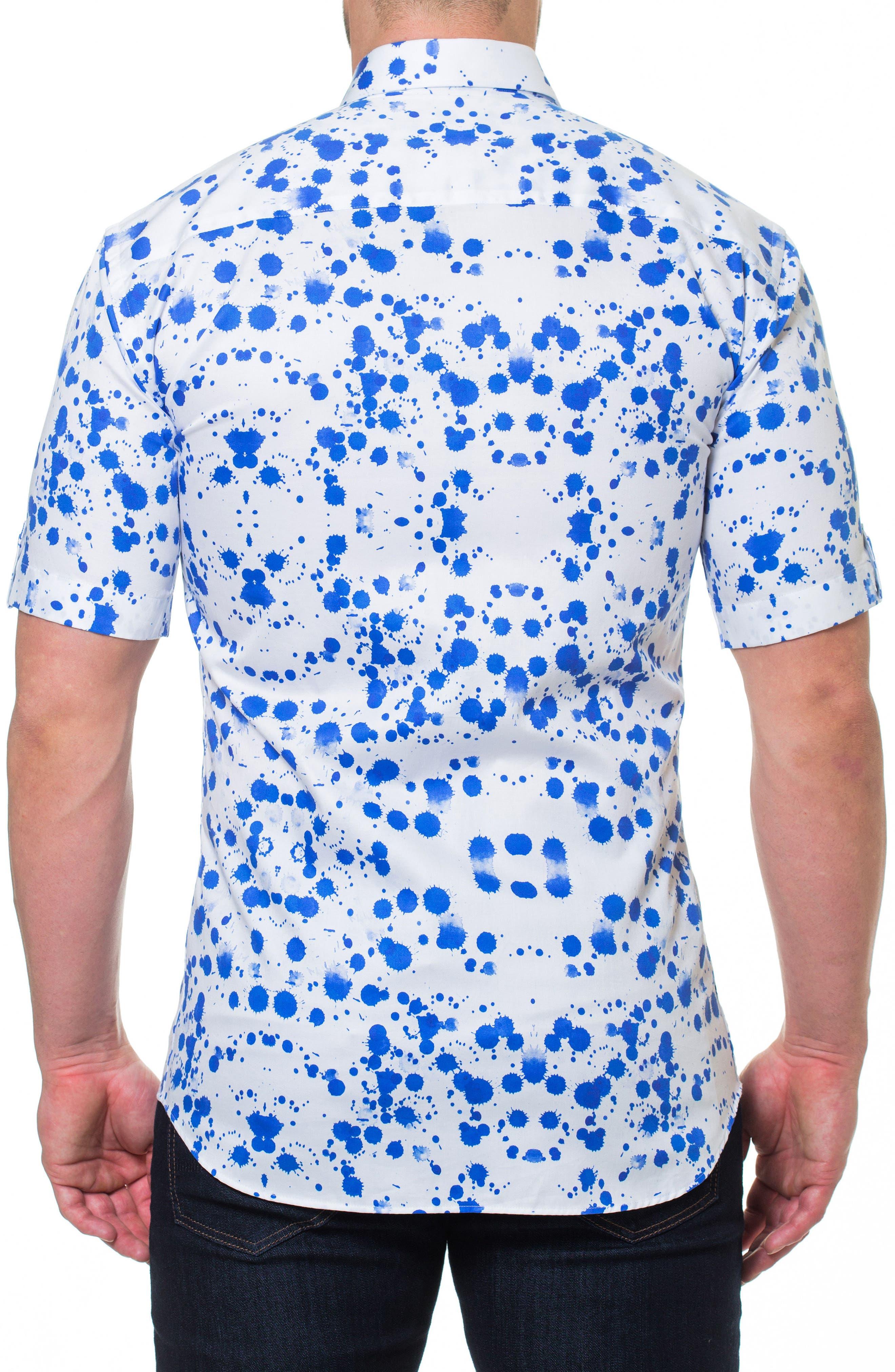 Fresh Drop Sport Shirt,                             Alternate thumbnail 2, color,                             White