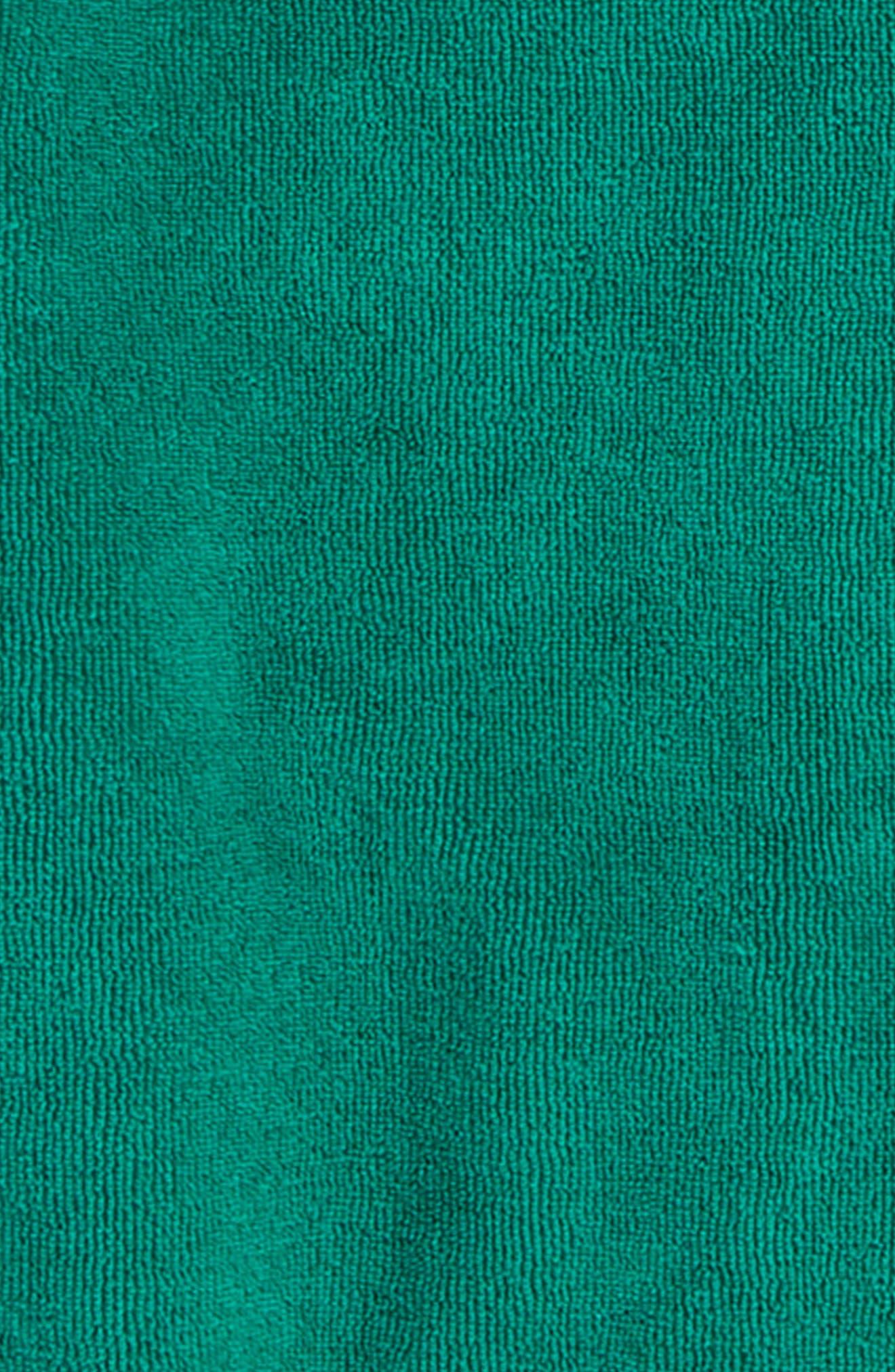 Green Lake Gator Towel Cover-Up,                             Alternate thumbnail 2, color,                             Green Lake Gator