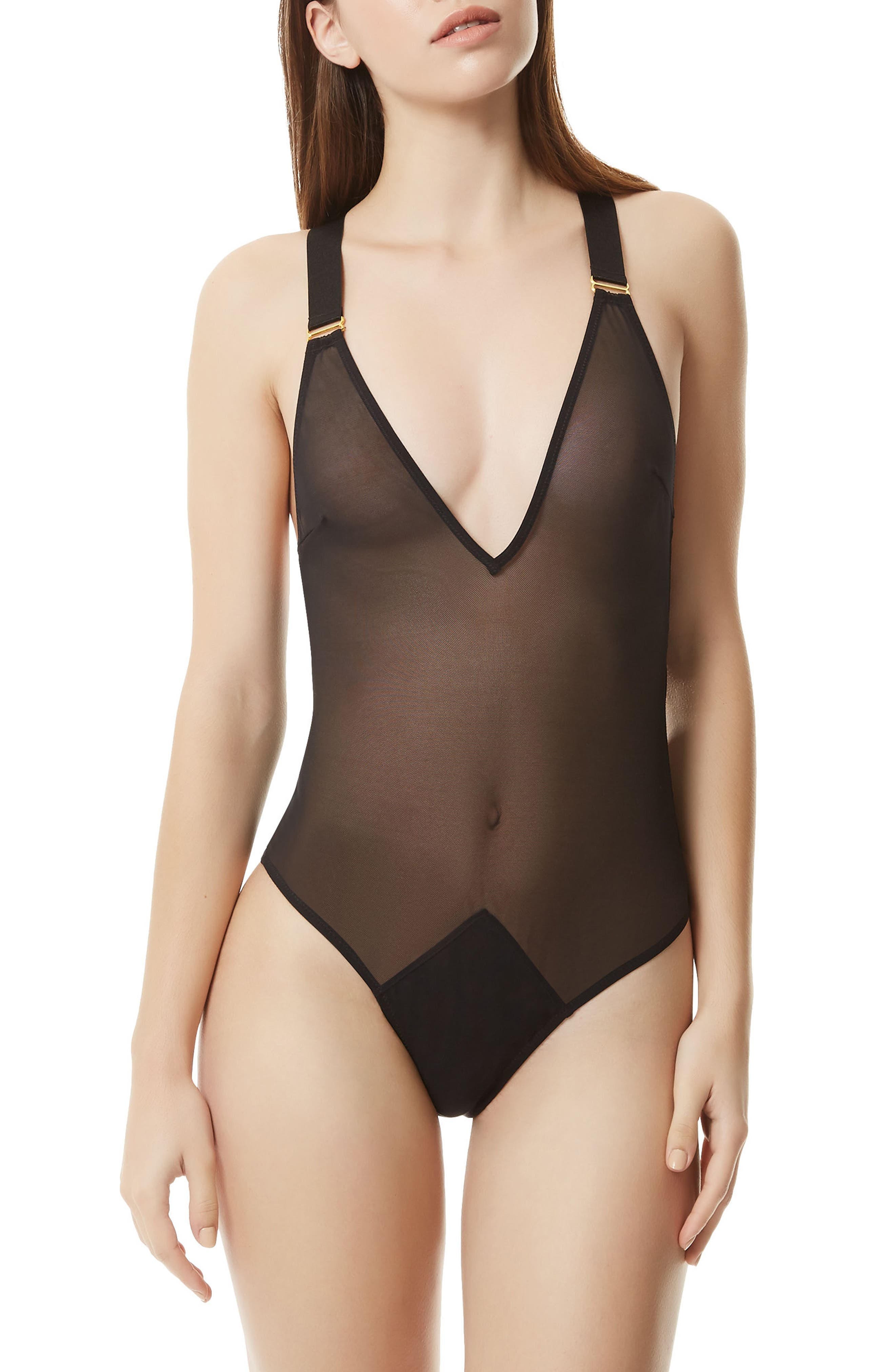Marta Bodysuit,                             Main thumbnail 1, color,                             Black