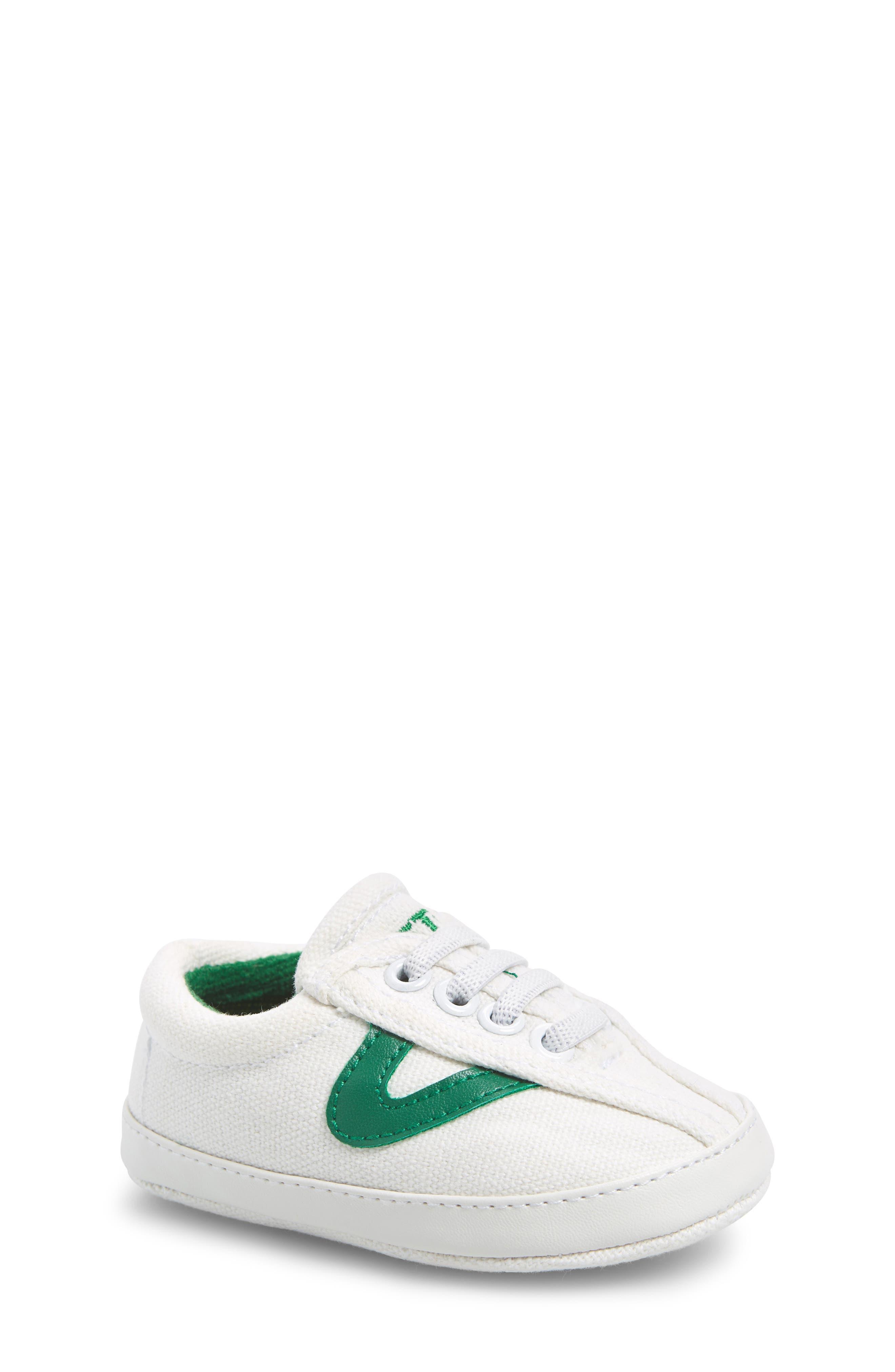 Nylite Plus Sneaker,                         Main,                         color, White/ Green