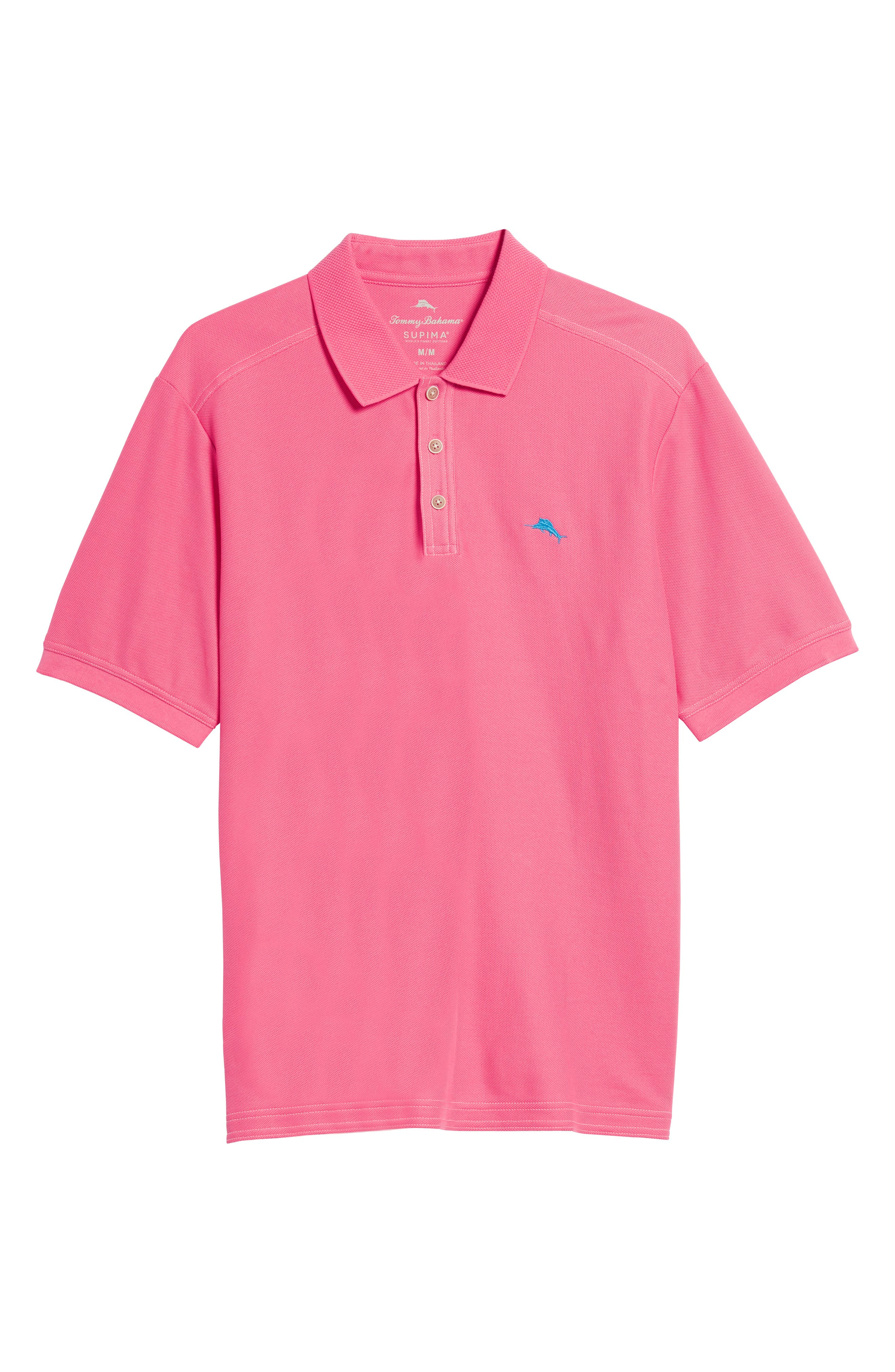 Alternate Image 6  - Tommy Bahama 'The Emfielder' Original Fit Piqué Polo