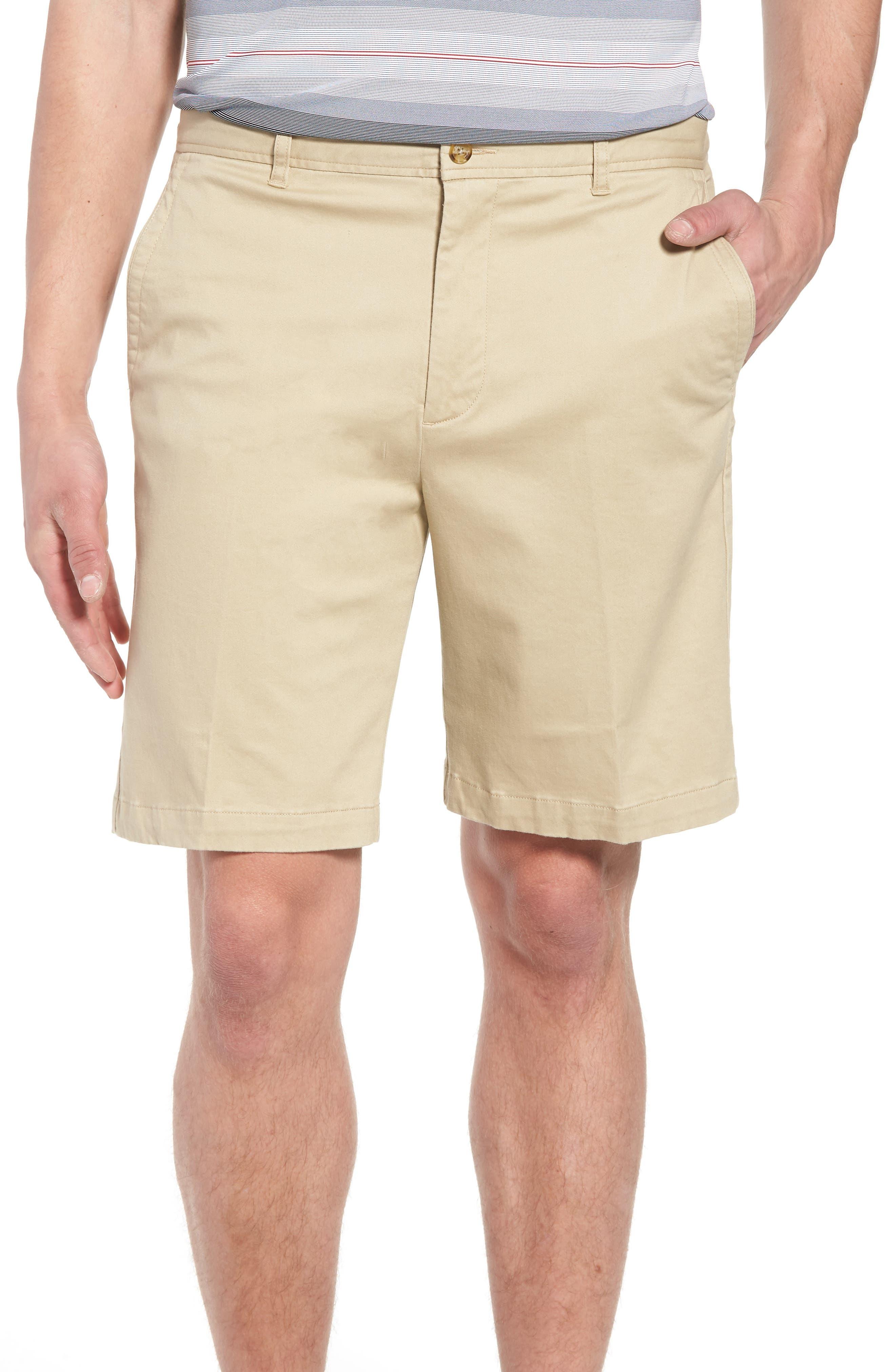 St. Charles Stretch Twill Shorts,                         Main,                         color, Khaki