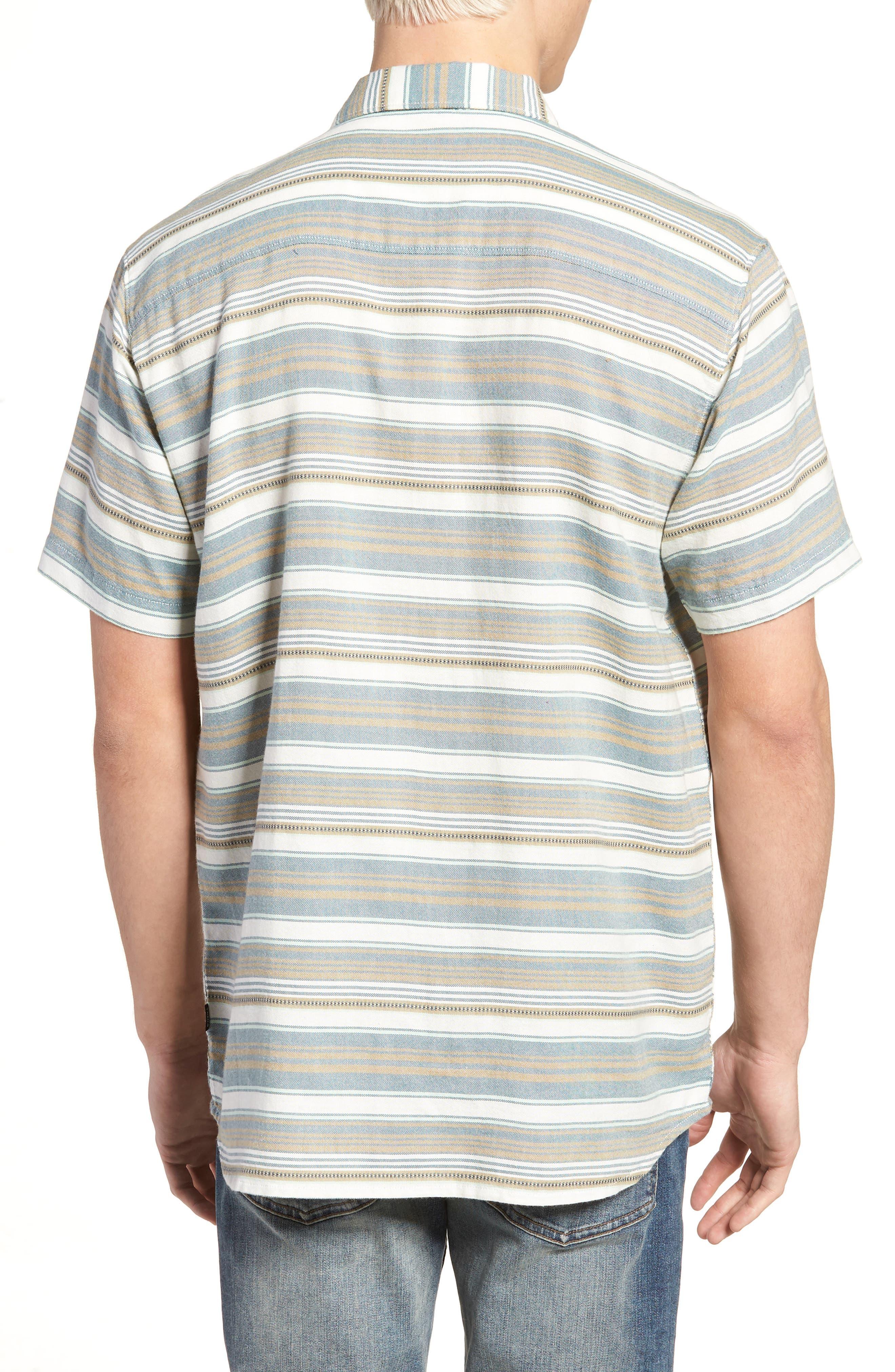 Currington Short Sleeve Shirt,                             Alternate thumbnail 2, color,                             Khaki