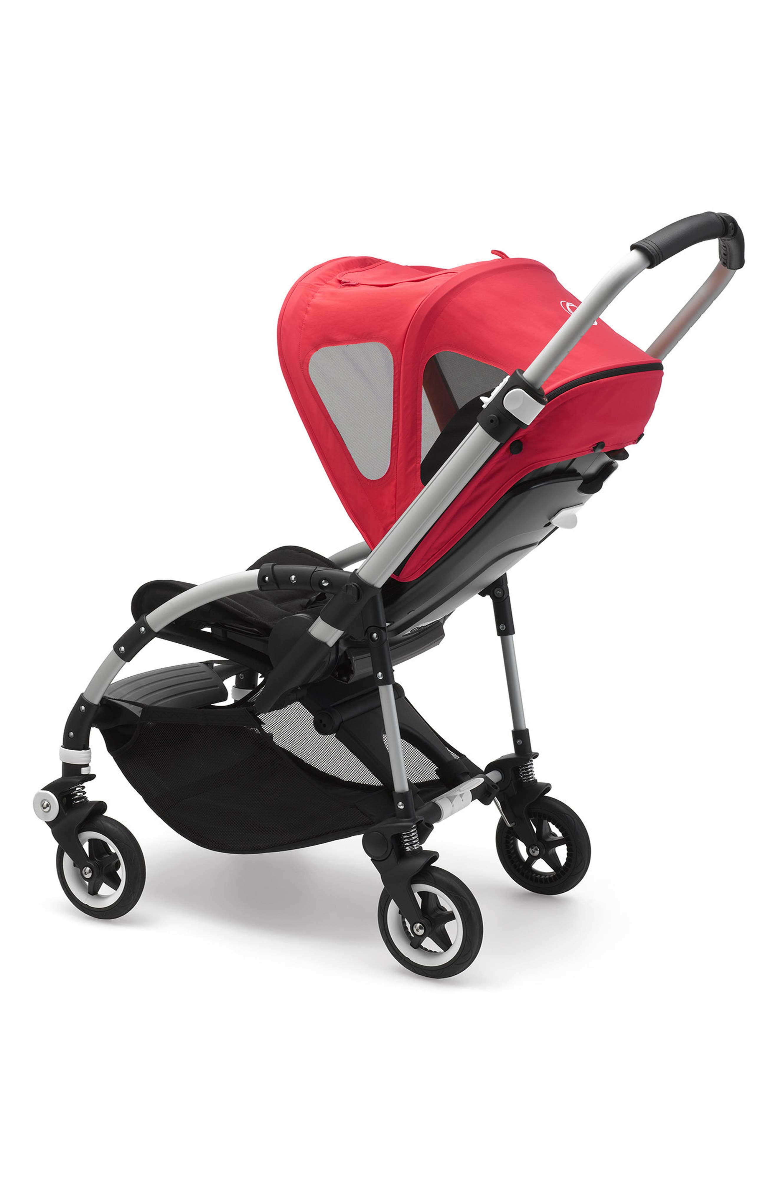 Breezy Sun Canopy for Bugaboo Bee Strollers,                             Alternate thumbnail 2, color,                             Neon Red