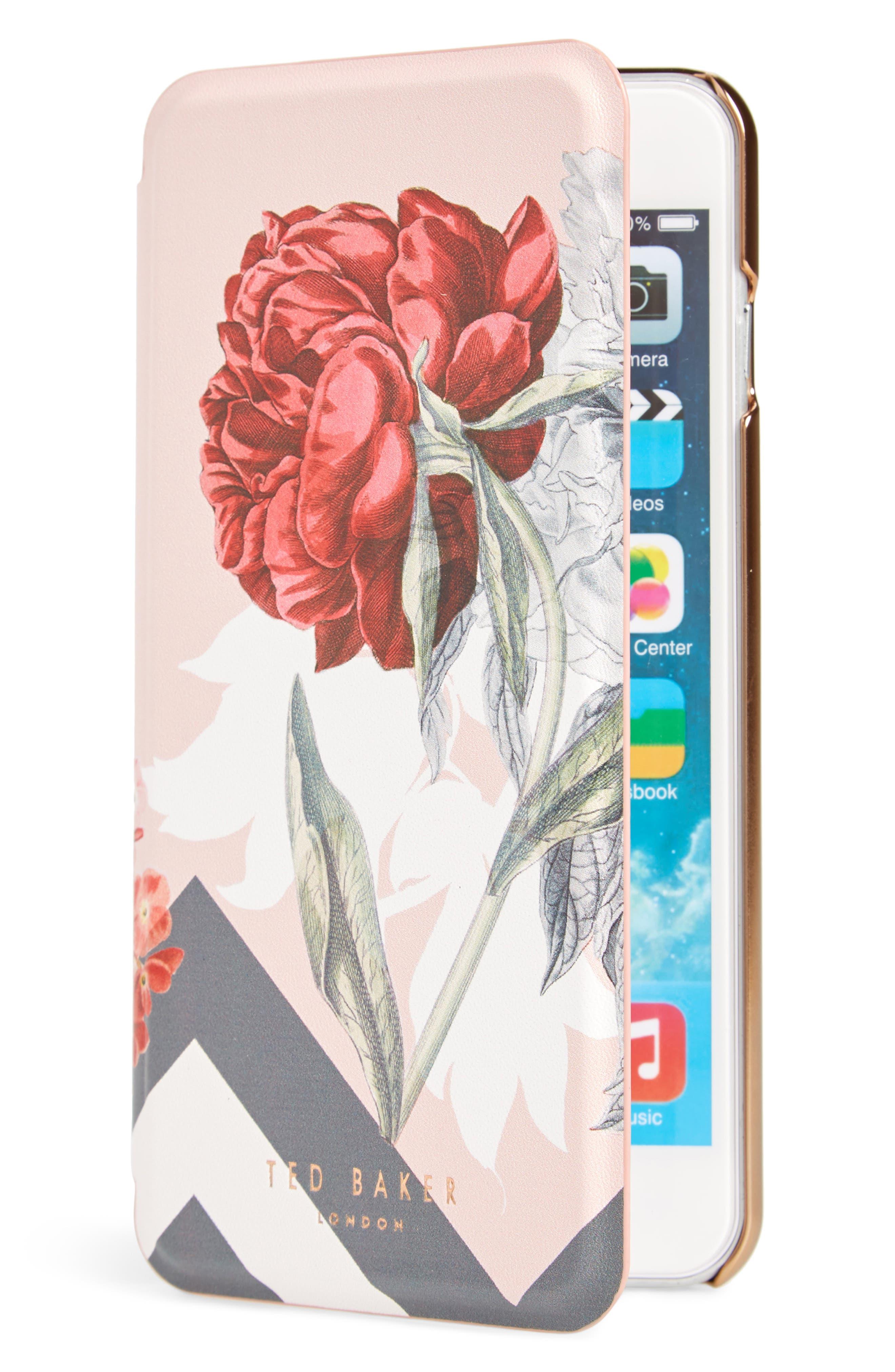 Palace Gardens iPhone 7/8 & 7/8 Plus Case,                             Main thumbnail 1, color,                             Pink
