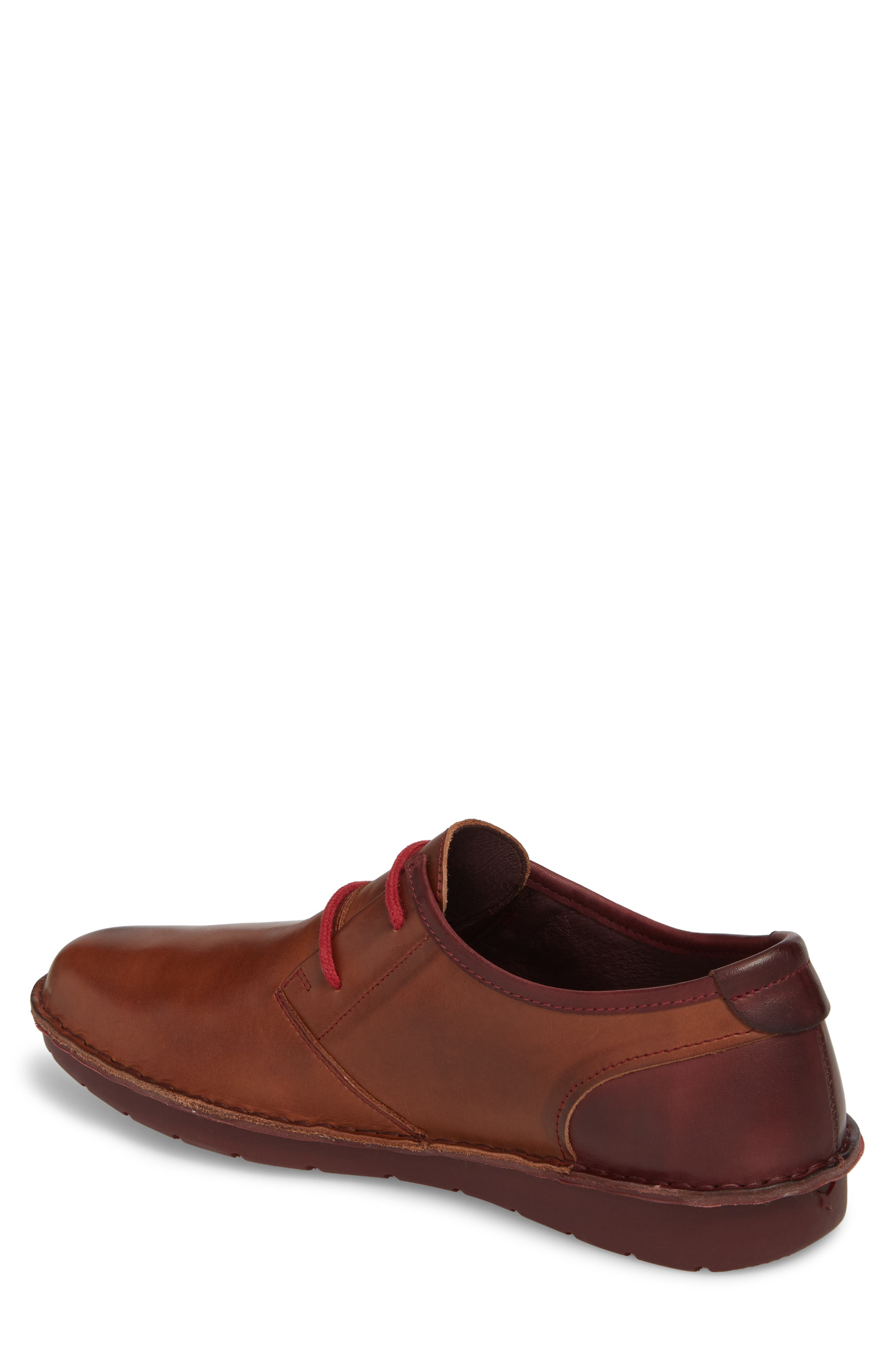 'Santiago' Plain Toe Derby,                             Alternate thumbnail 2, color,                             Cuero Leather