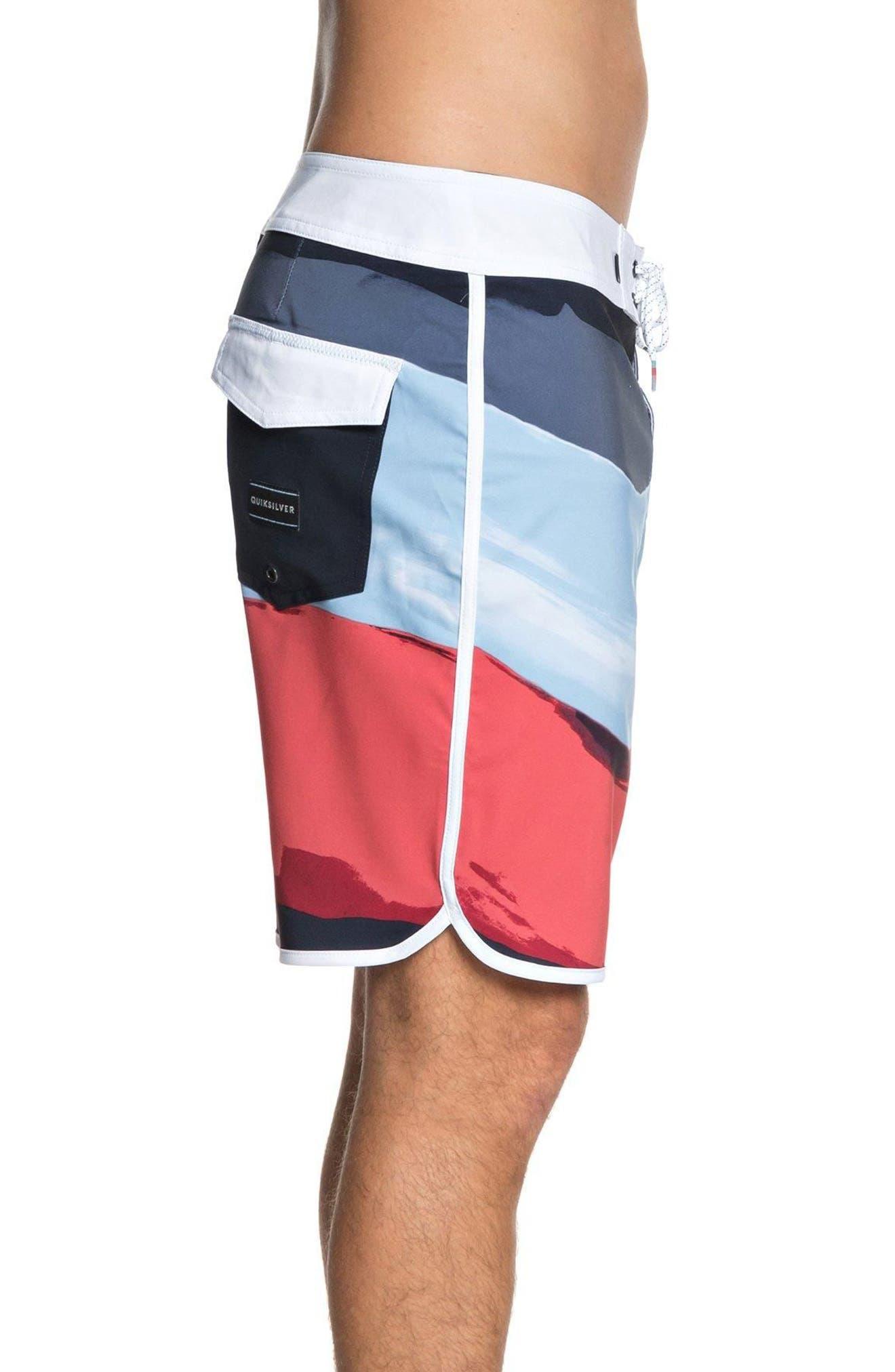 Highline Resin Board Shorts,                             Alternate thumbnail 3, color,                             Navy Blazer