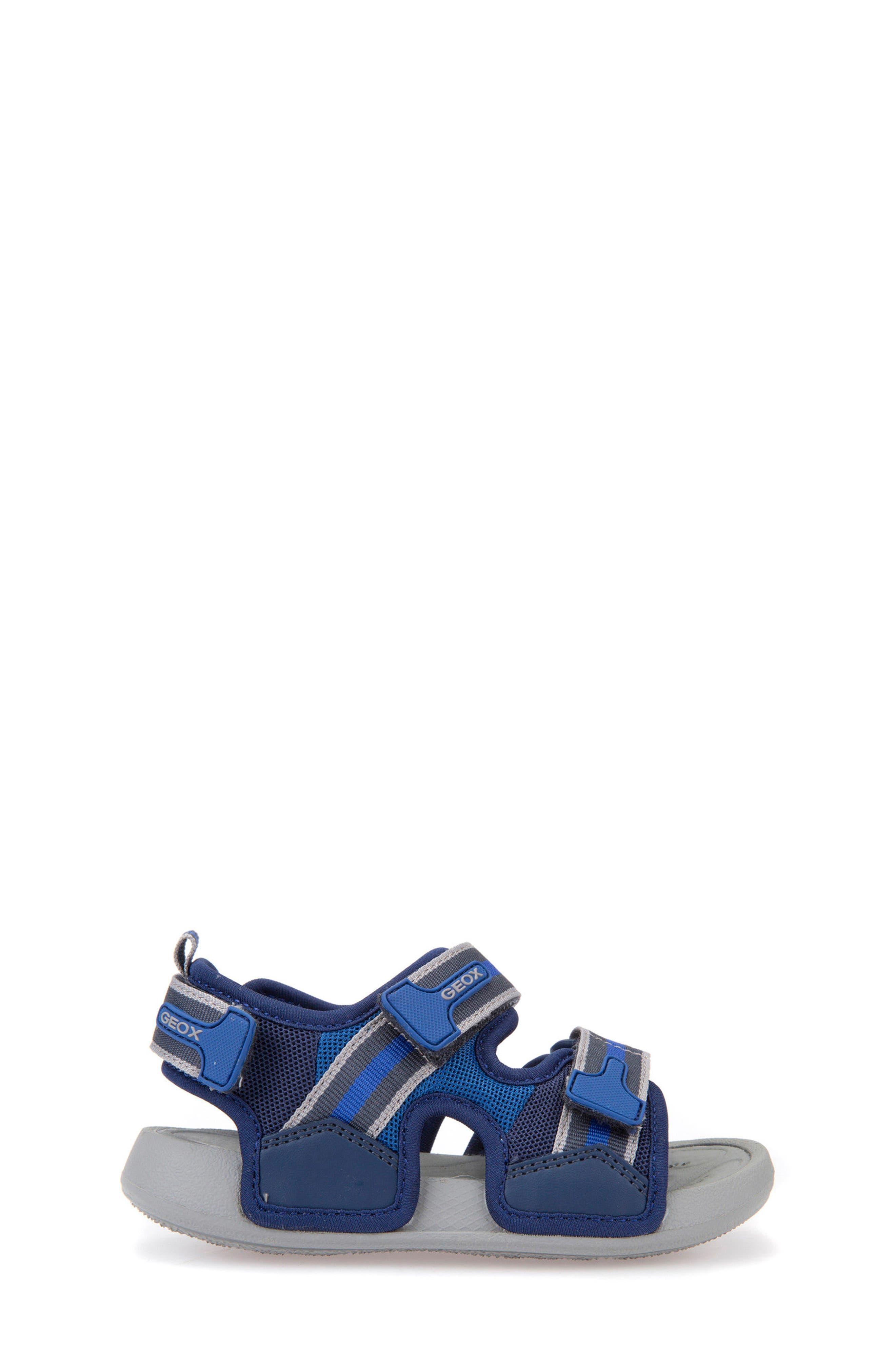 Ultrak Sandal,                             Alternate thumbnail 3, color,                             Navy/ Royal