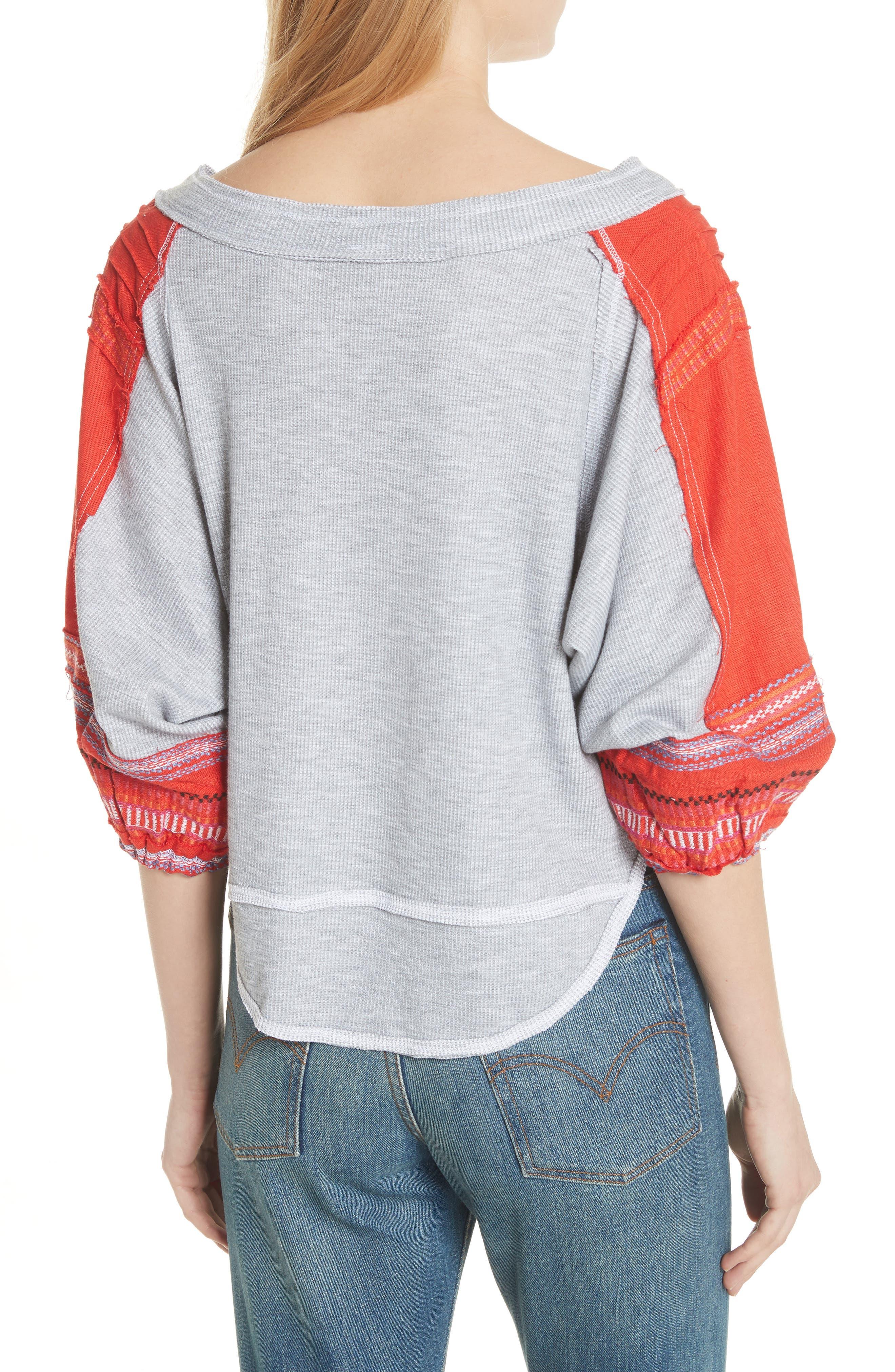 Bubble Shirt,                             Alternate thumbnail 2, color,                             Grey