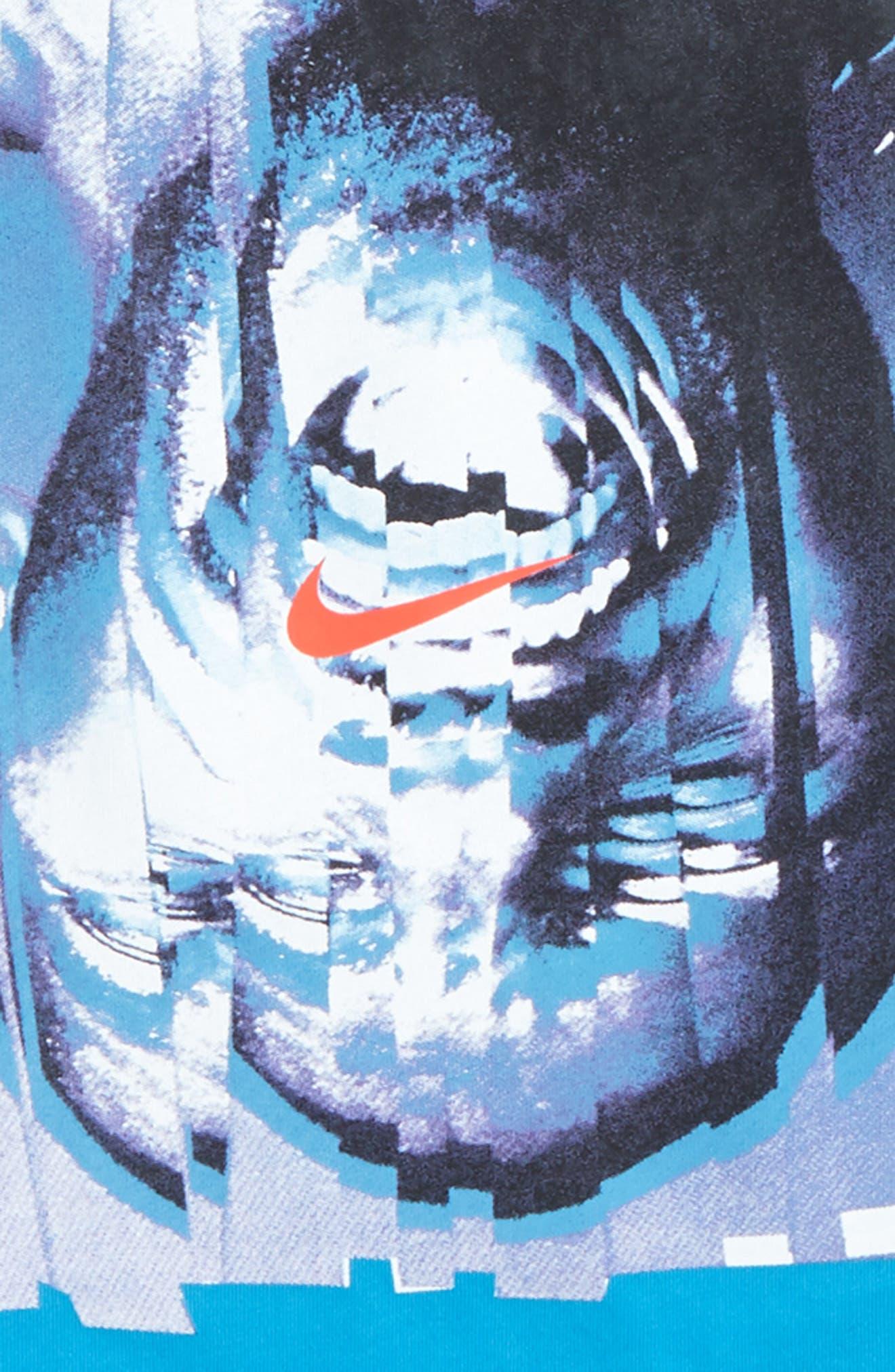 Kyrie Graphic T-Shirt,                             Alternate thumbnail 2, color,                             Equator Blue