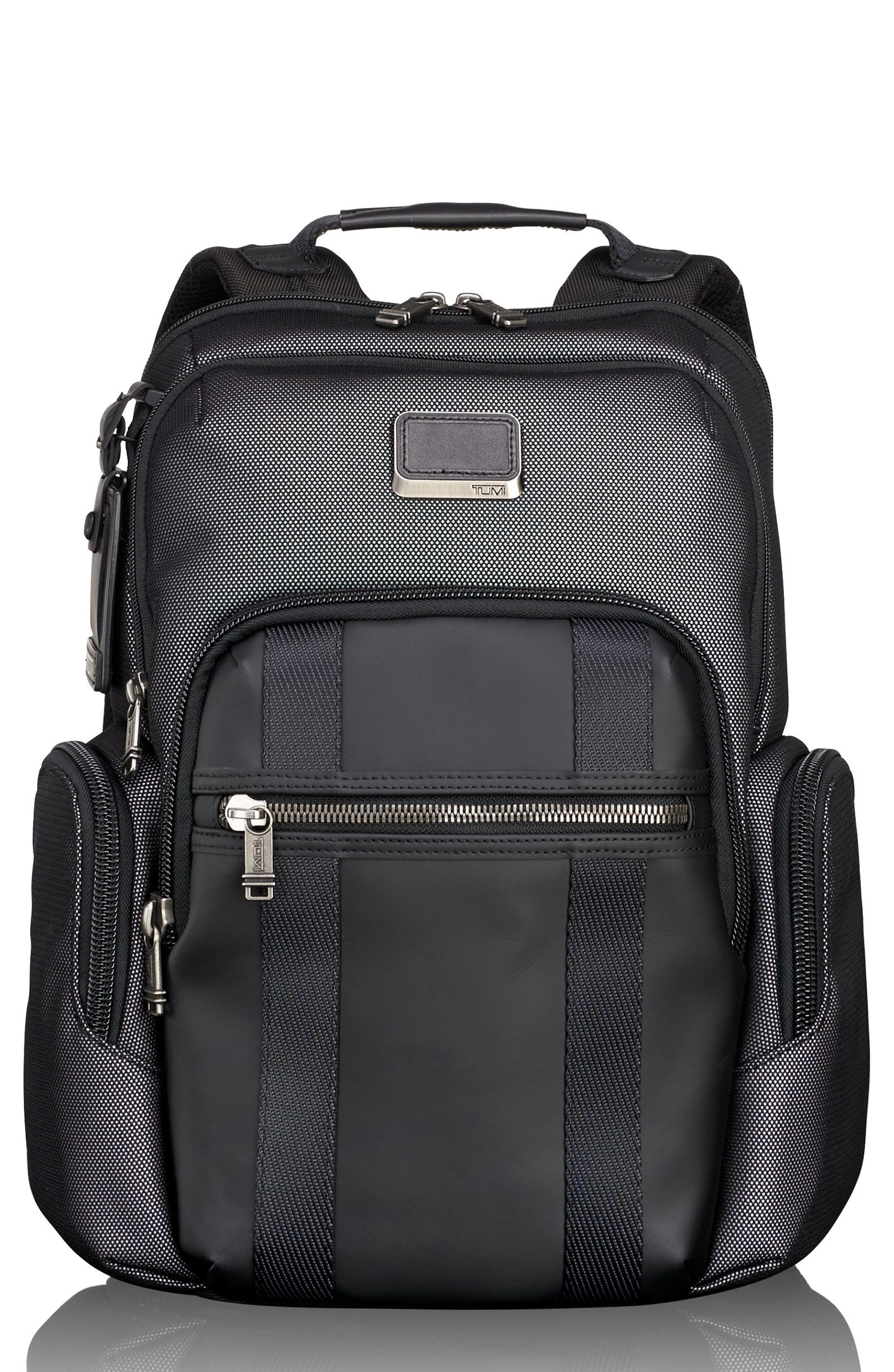 Alpha Bravo - Nellis Backpack,                             Main thumbnail 1, color,                             Reflective Silver
