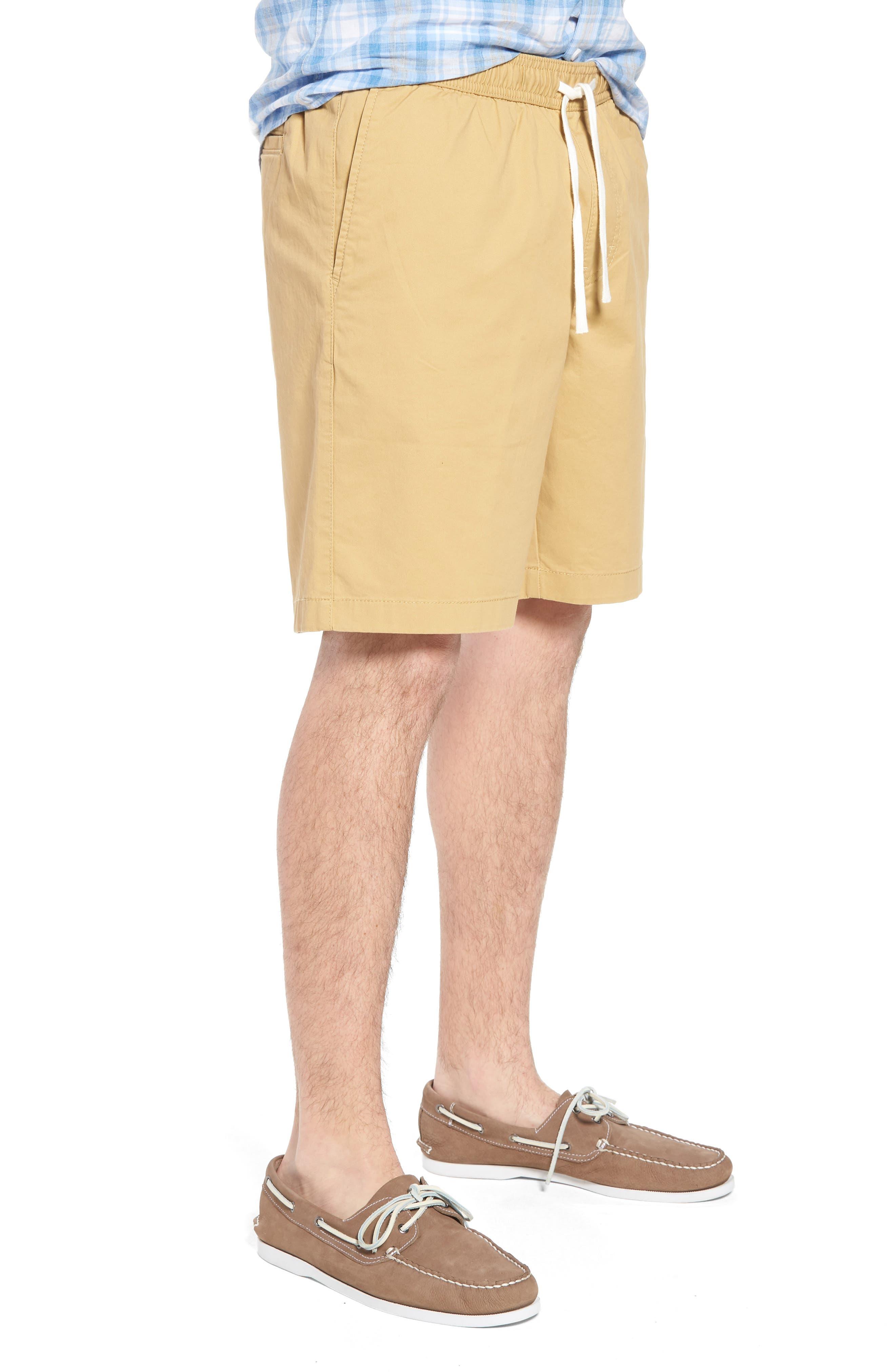 Ballard Slim Fit Shorts,                             Alternate thumbnail 3, color,                             Tan Lark
