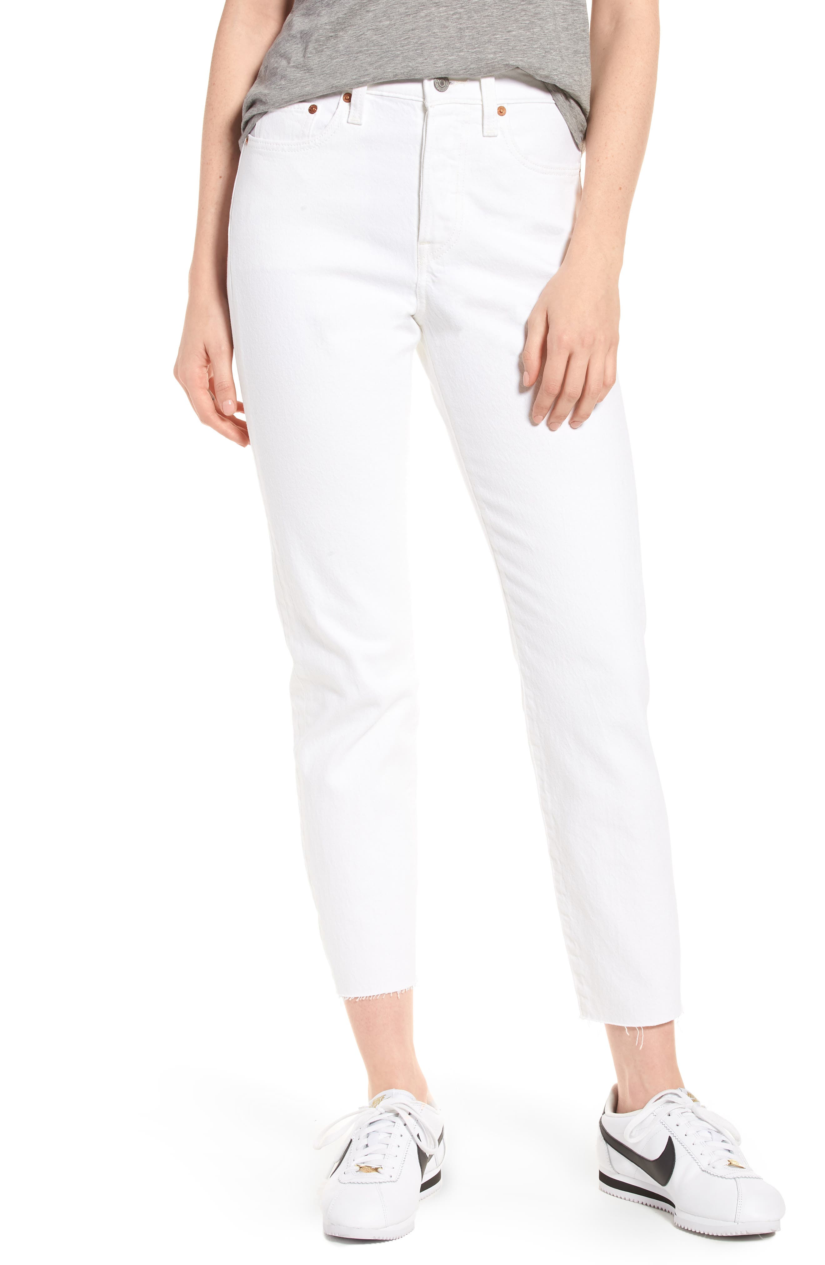 Levi's® Wedgie Icon Fit High Waist Jeans (Above the Clouds)