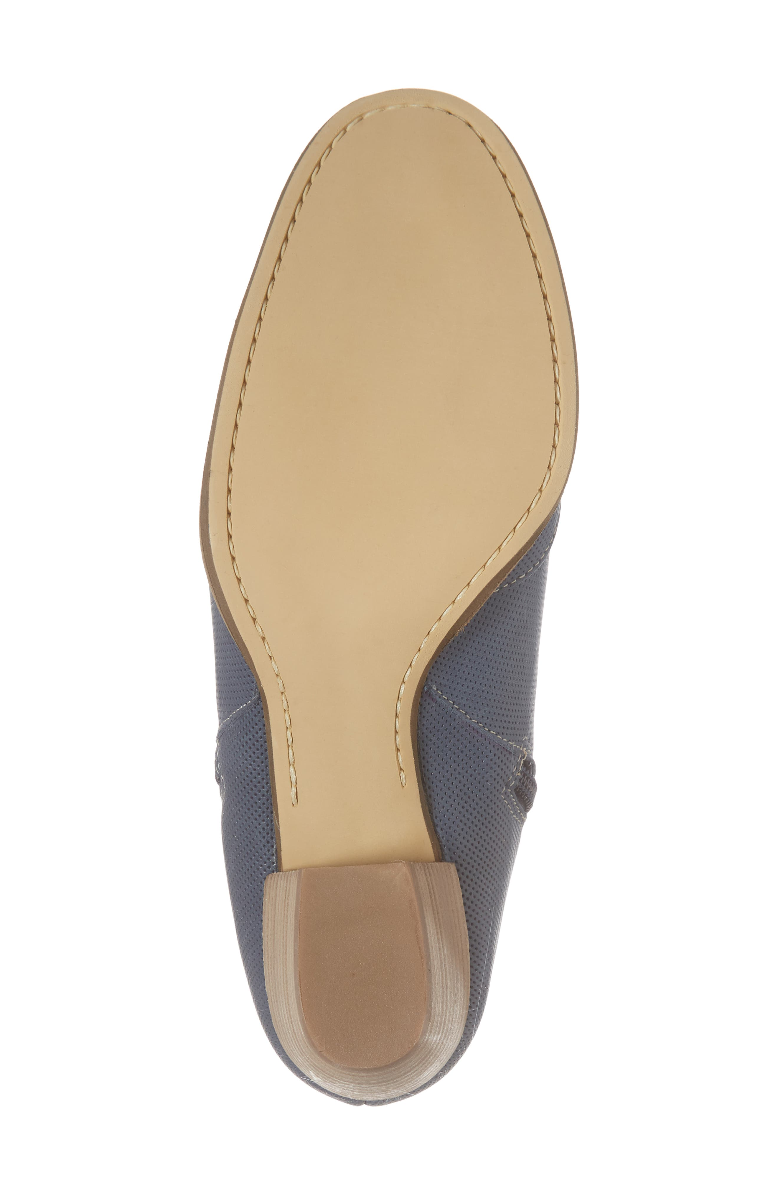 Robin Bootie,                             Alternate thumbnail 6, color,                             Blue Leather