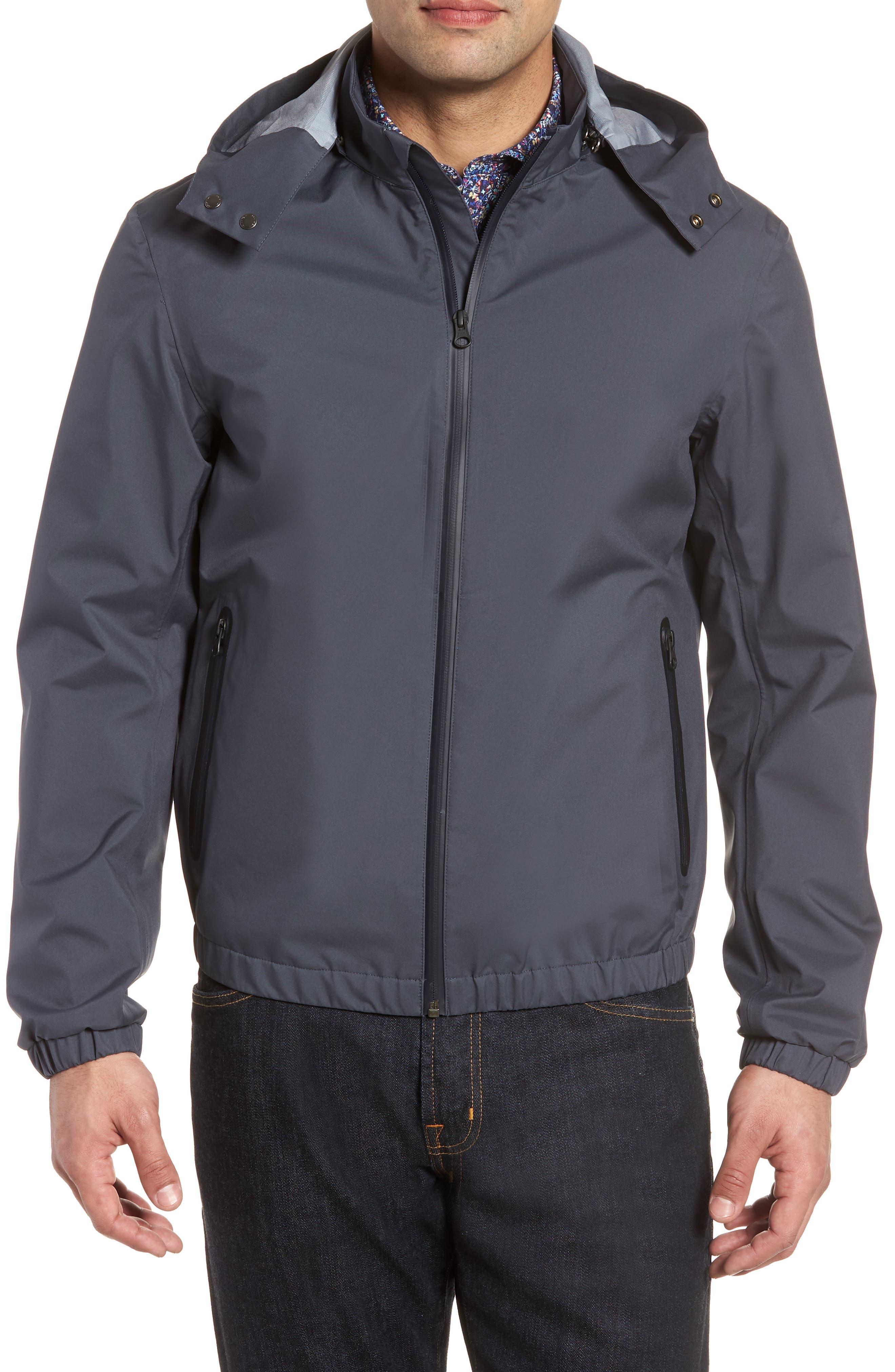 Regular Fit Jacket,                         Main,                         color, Slate