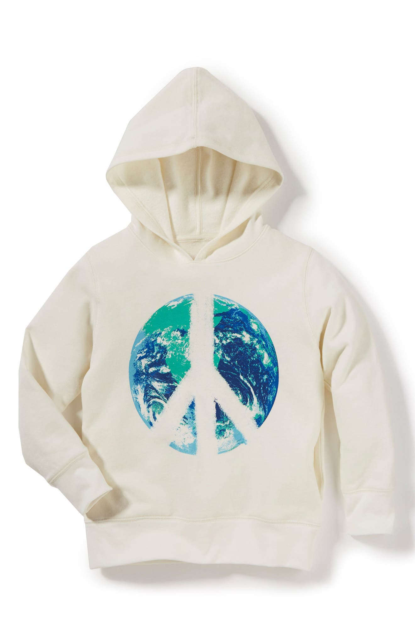 Use Your Smile Hoodie,                             Main thumbnail 1, color,                             Ivory