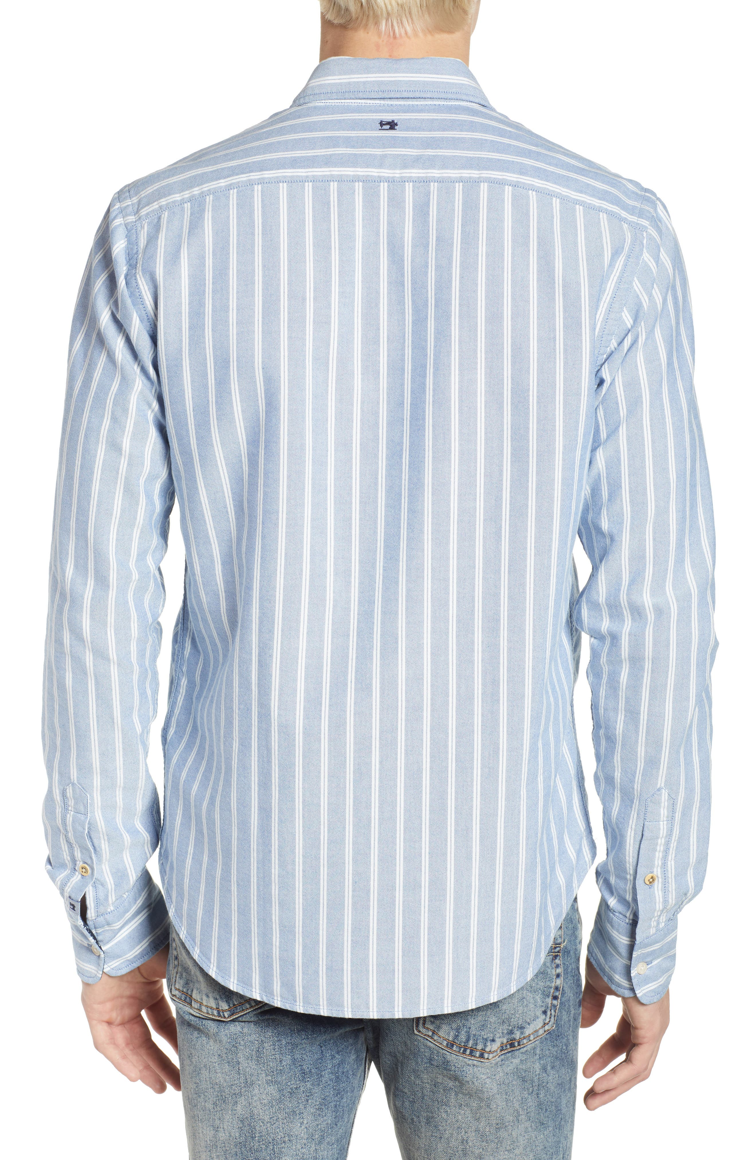 Oxford Shirt,                             Alternate thumbnail 3, color,                             Combo A