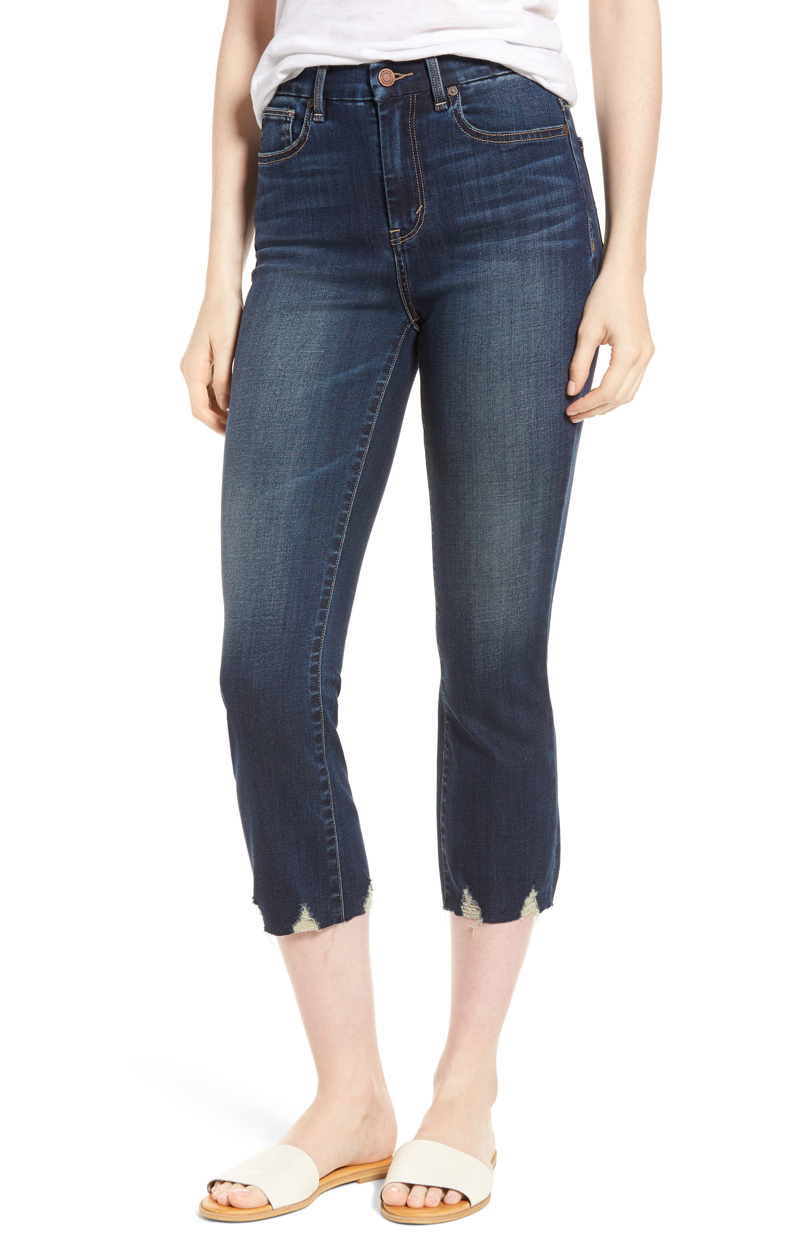 Palo Double Bite Crop Jeans,                         Main,                         color, Candleberry