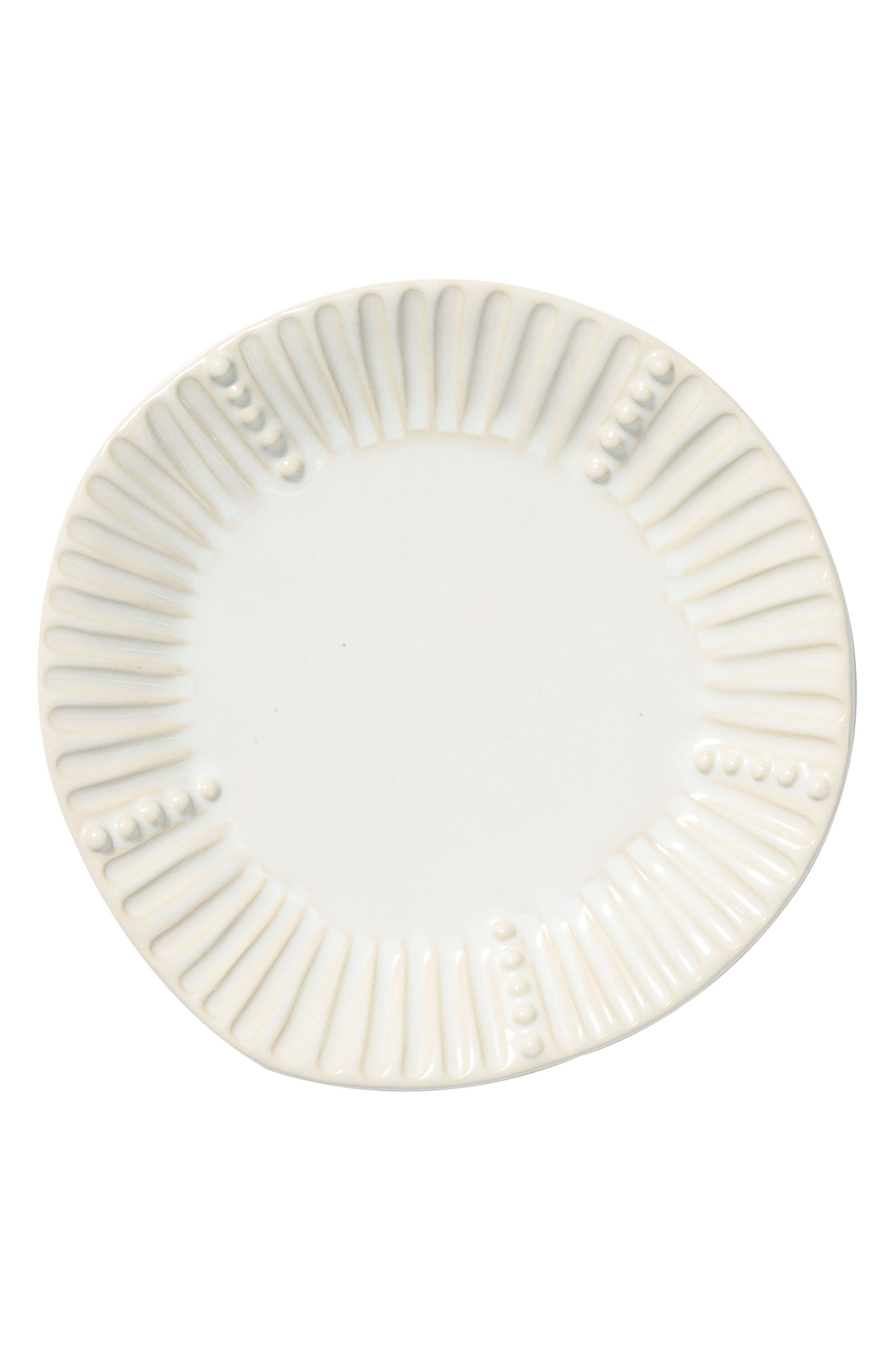 Main Image - VIETRI Incanto Stone Stripe Salad Plate
