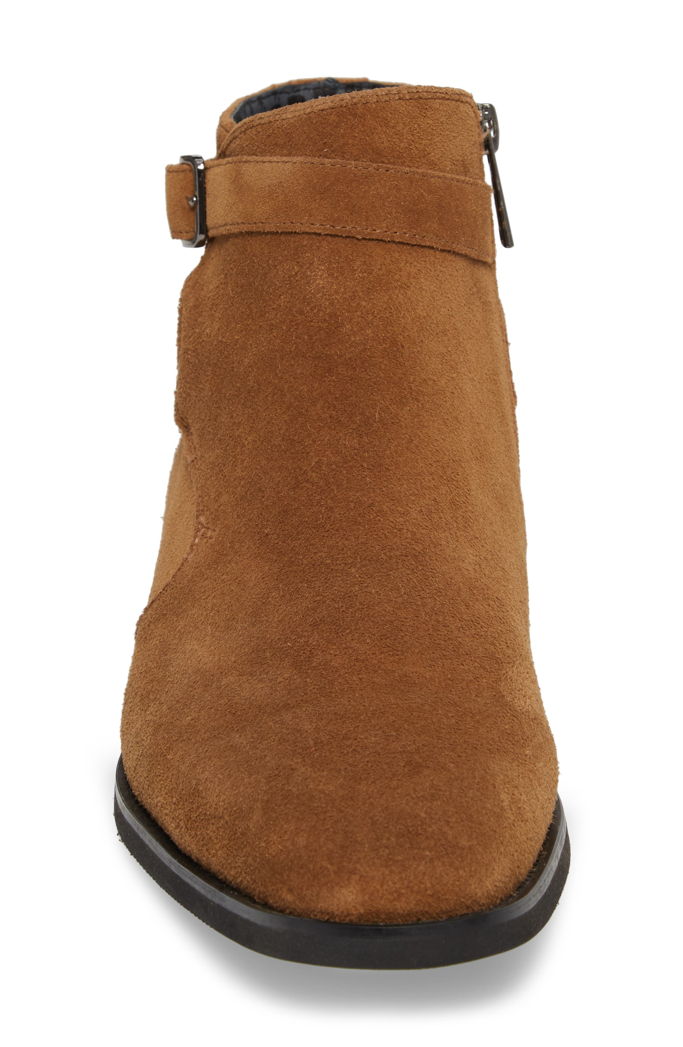 Ankle Wrap Boot,                             Alternate thumbnail 4, color,                             Desert