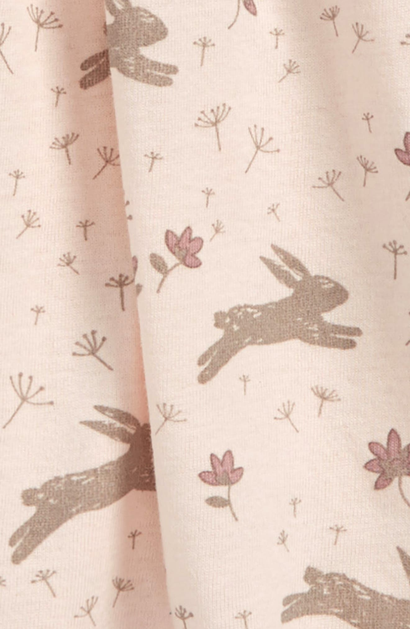 Peek Bunny Dress,                             Alternate thumbnail 2, color,                             Light Pink