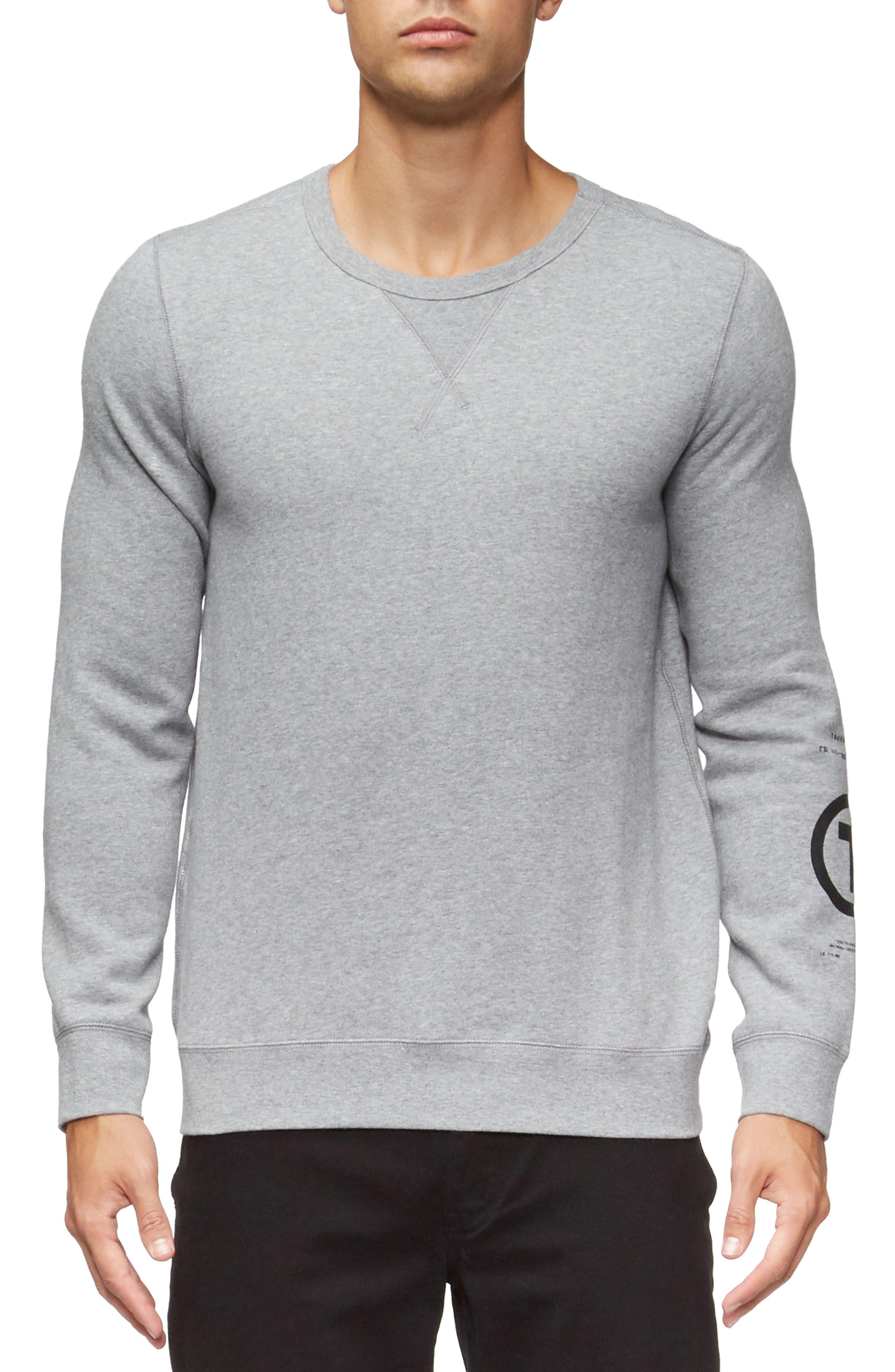 Marina Sweatshirt,                         Main,                         color, Heather Grey