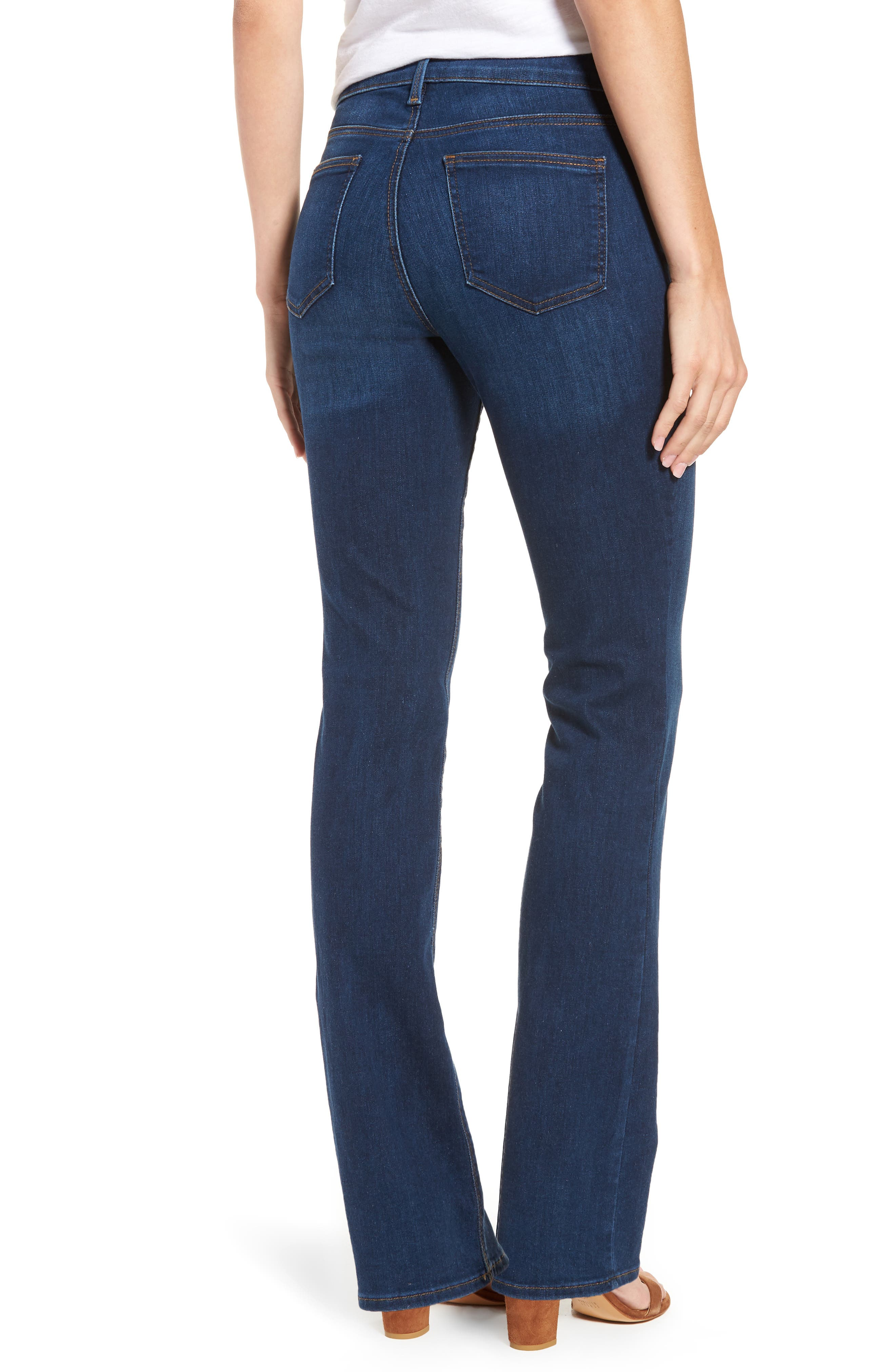 Billie Mini Bootcut Jeans,                             Alternate thumbnail 2, color,                             Cooper