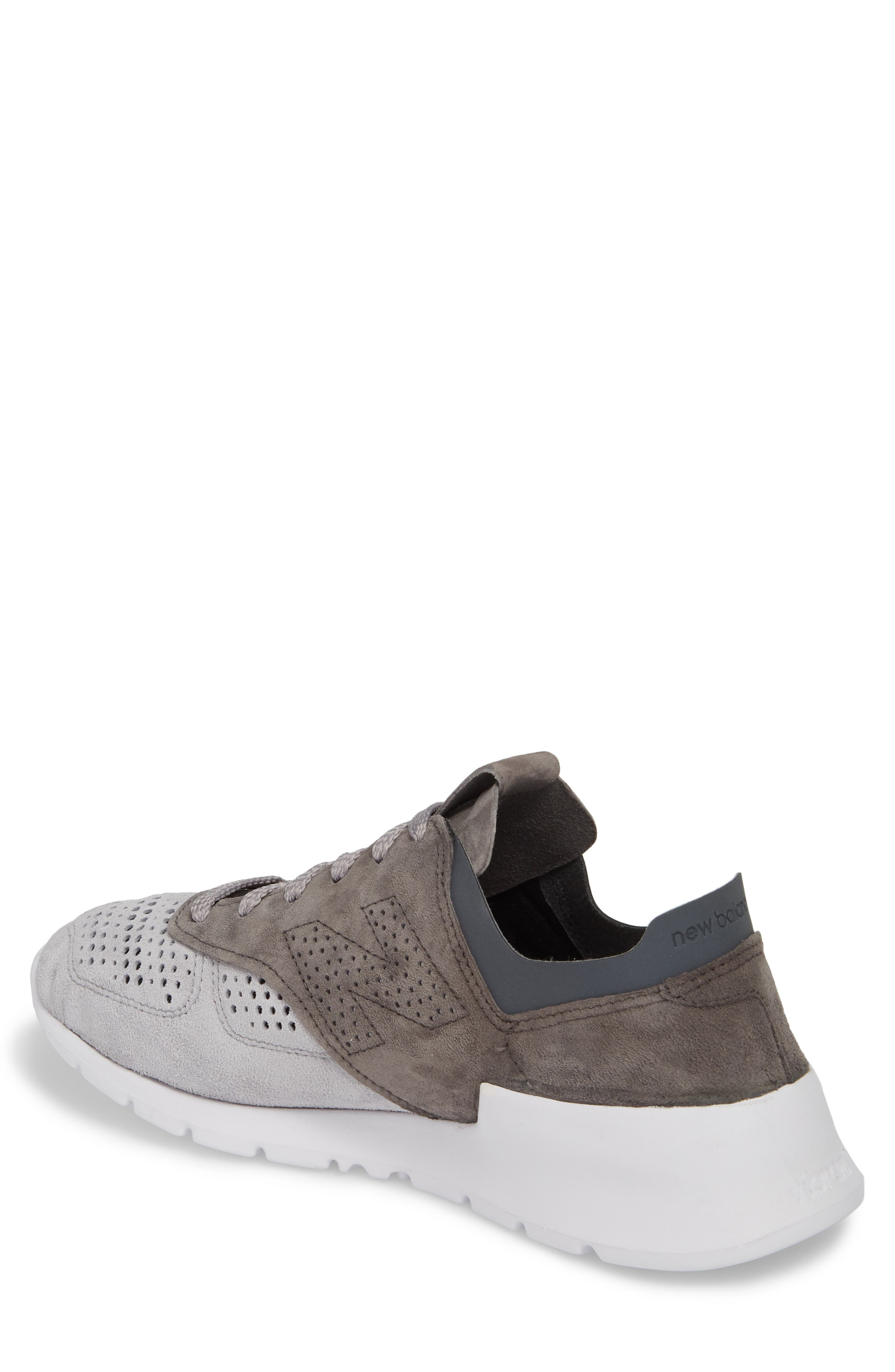 1978 Perforated Sneaker,                             Alternate thumbnail 2, color,                             Grey
