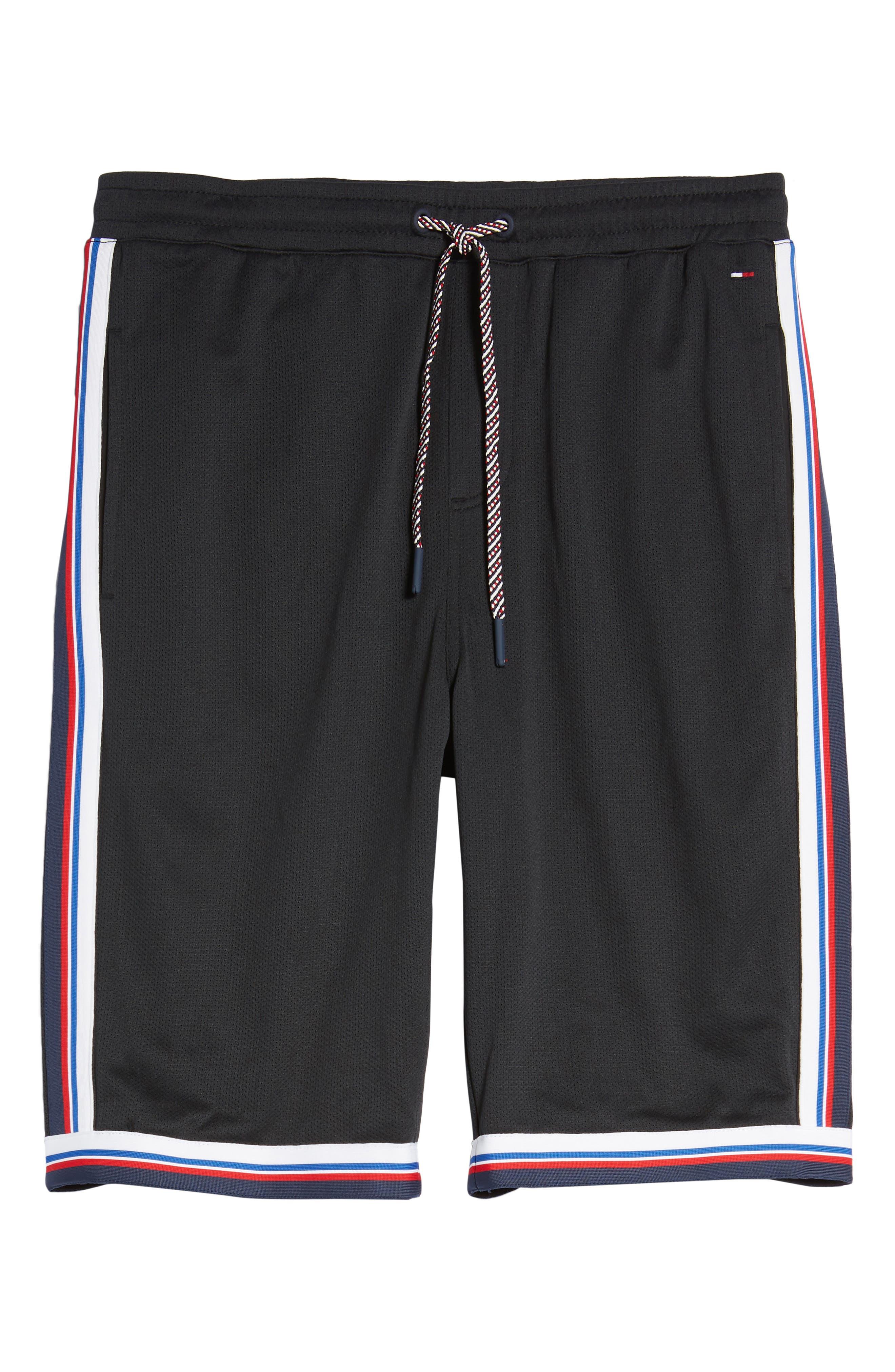 Lightweight Basketball Shorts,                             Alternate thumbnail 6, color,                             Tommy Black