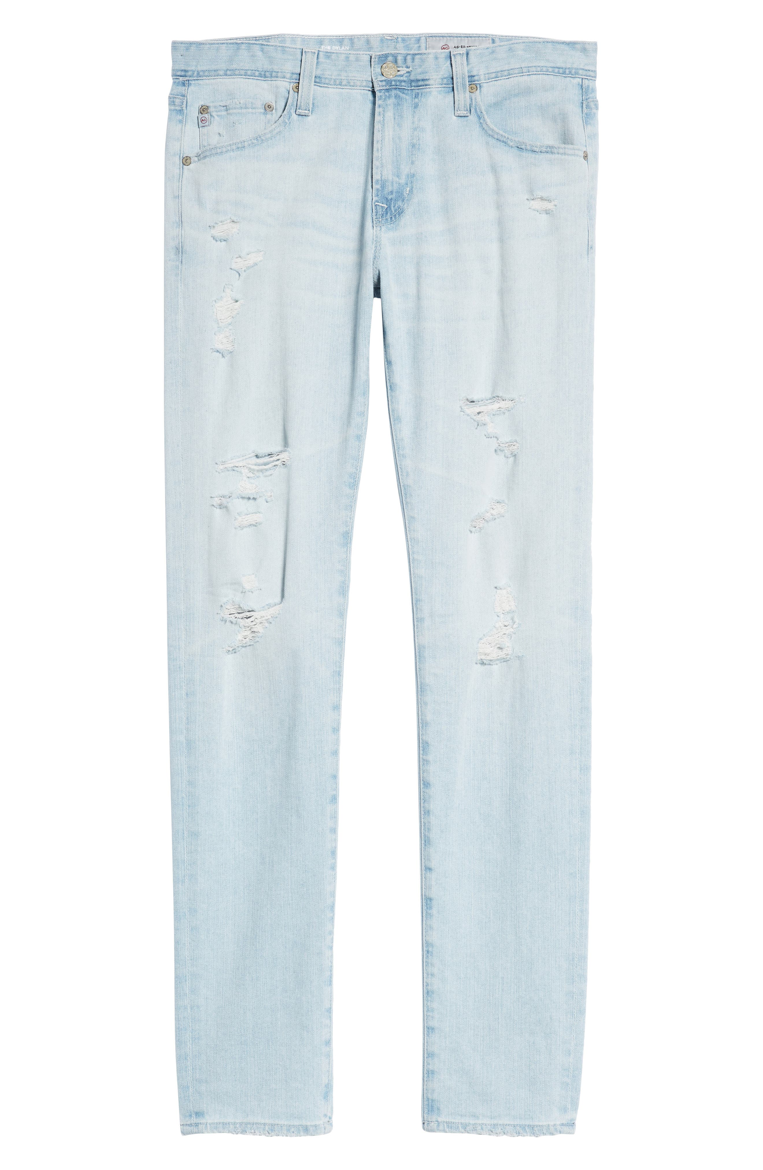 Dylan Skinny Fit Jeans,                             Alternate thumbnail 6, color,                             27 Years Surfrider