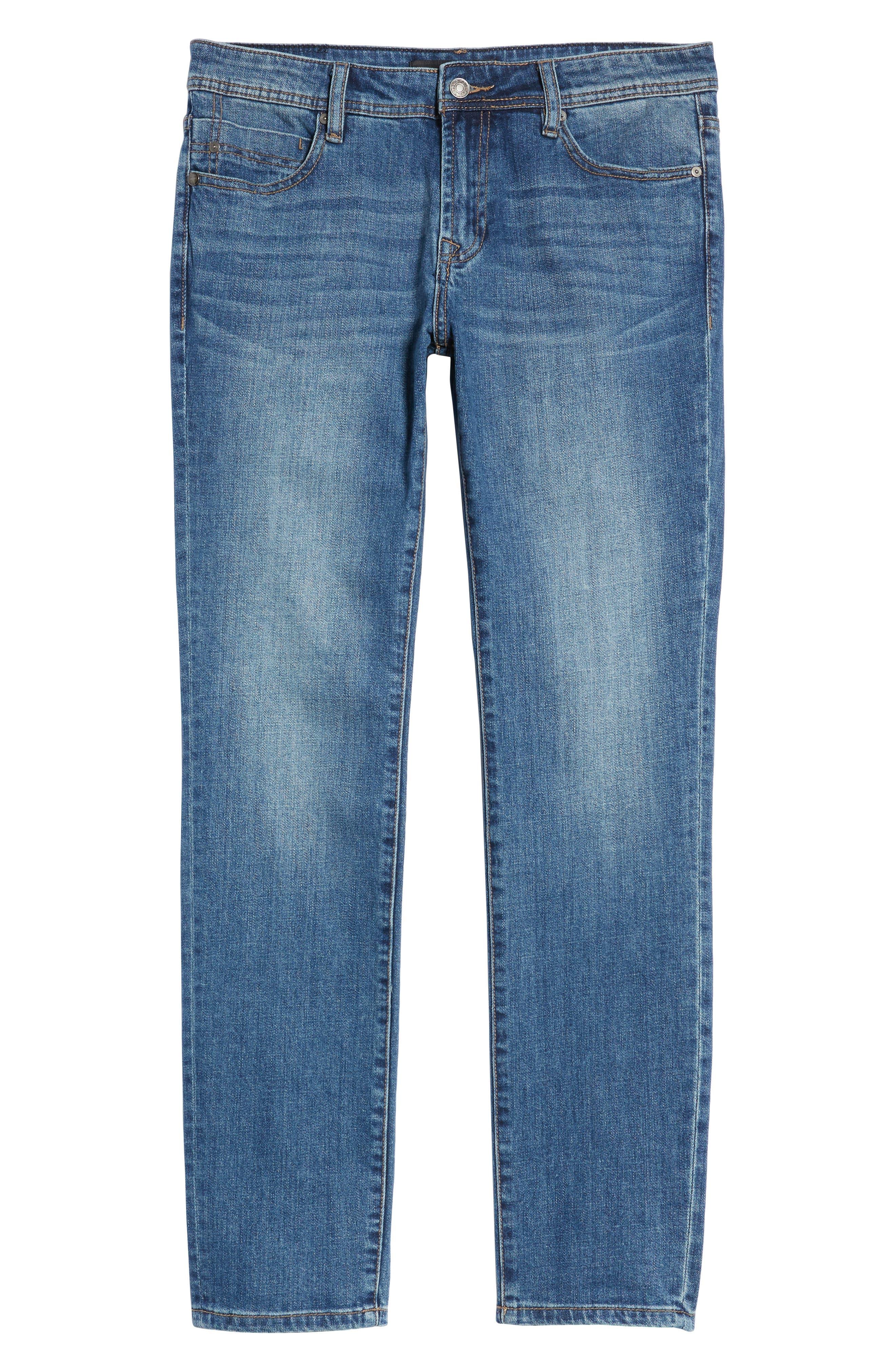 Jeans Co. Bond Skinny Fit Jeans,                             Alternate thumbnail 6, color,                             Bryson Vintage Medium