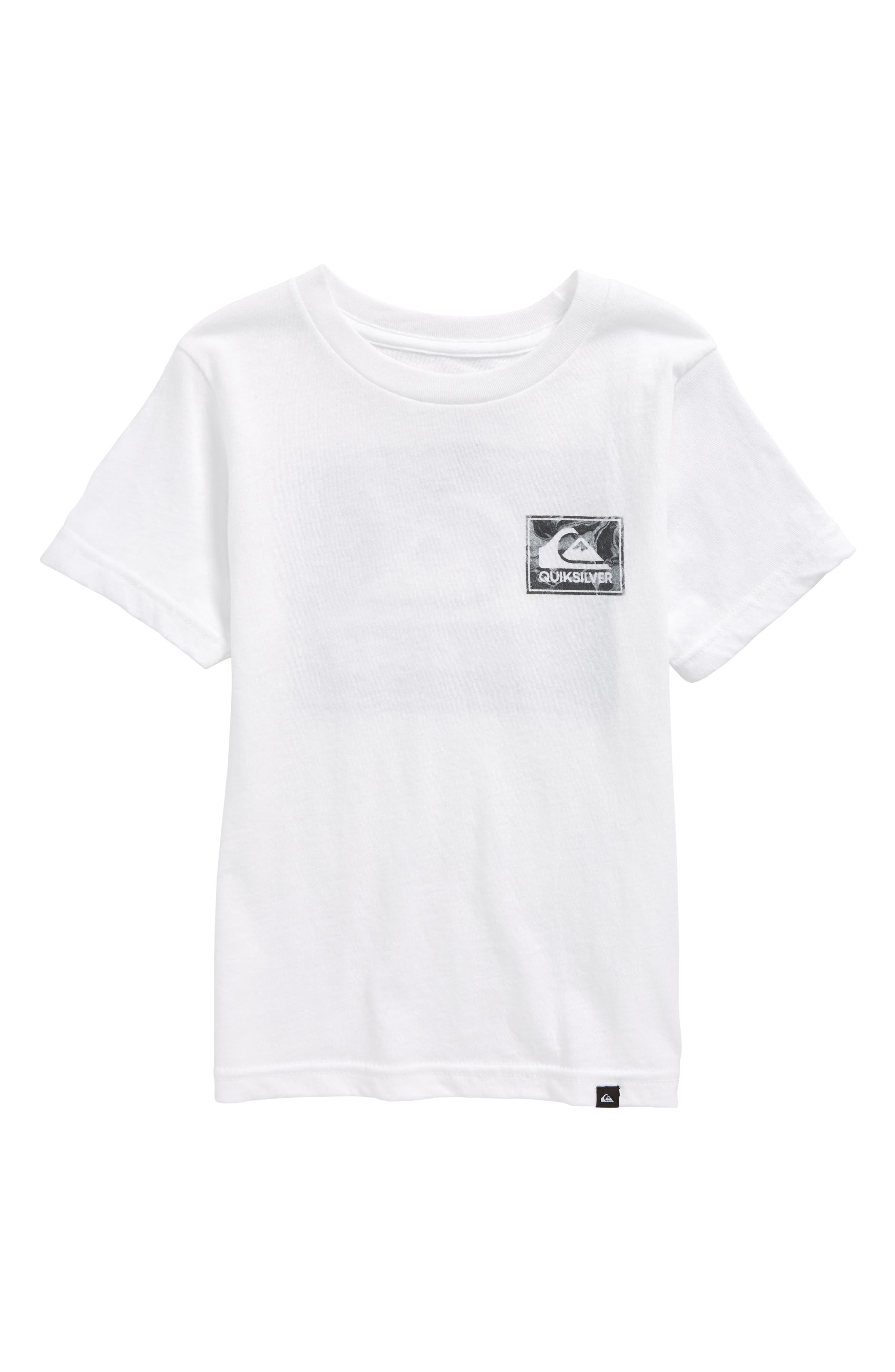 Volcano Blues T-Shirt,                             Main thumbnail 1, color,                             White