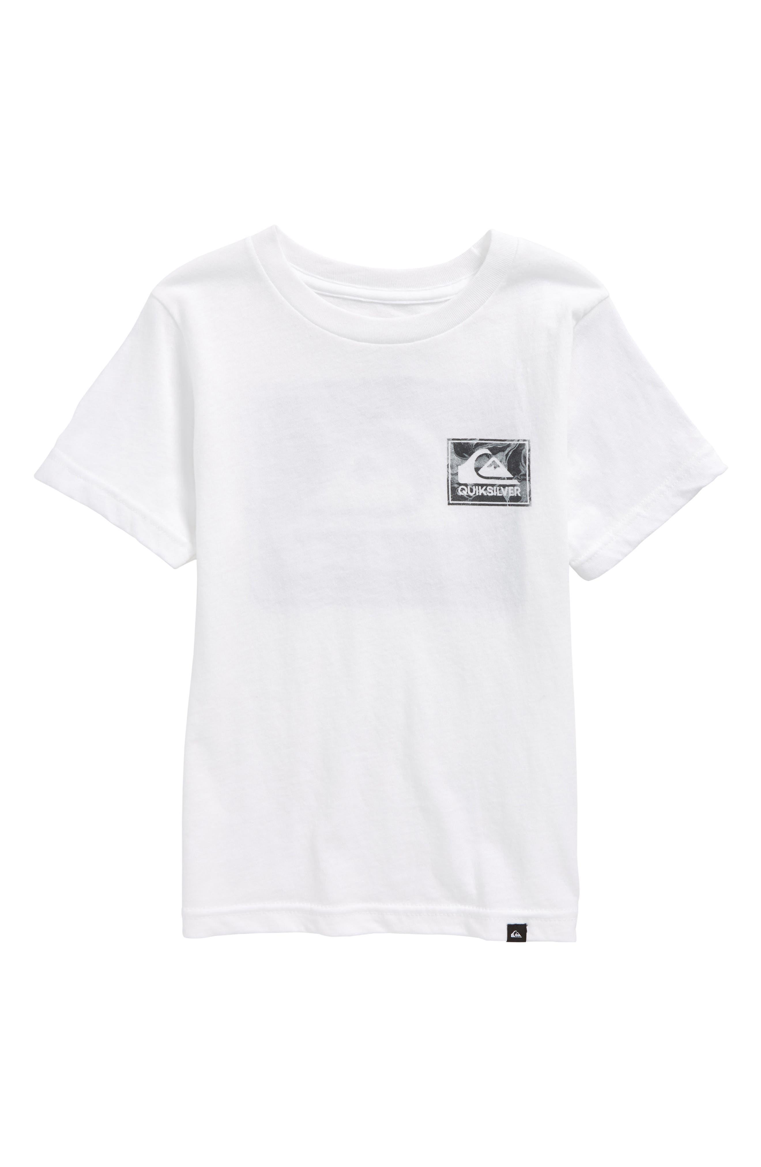 Quiksilver Volcano Blues T-Shirt (Toddler Boys & Little Boys)
