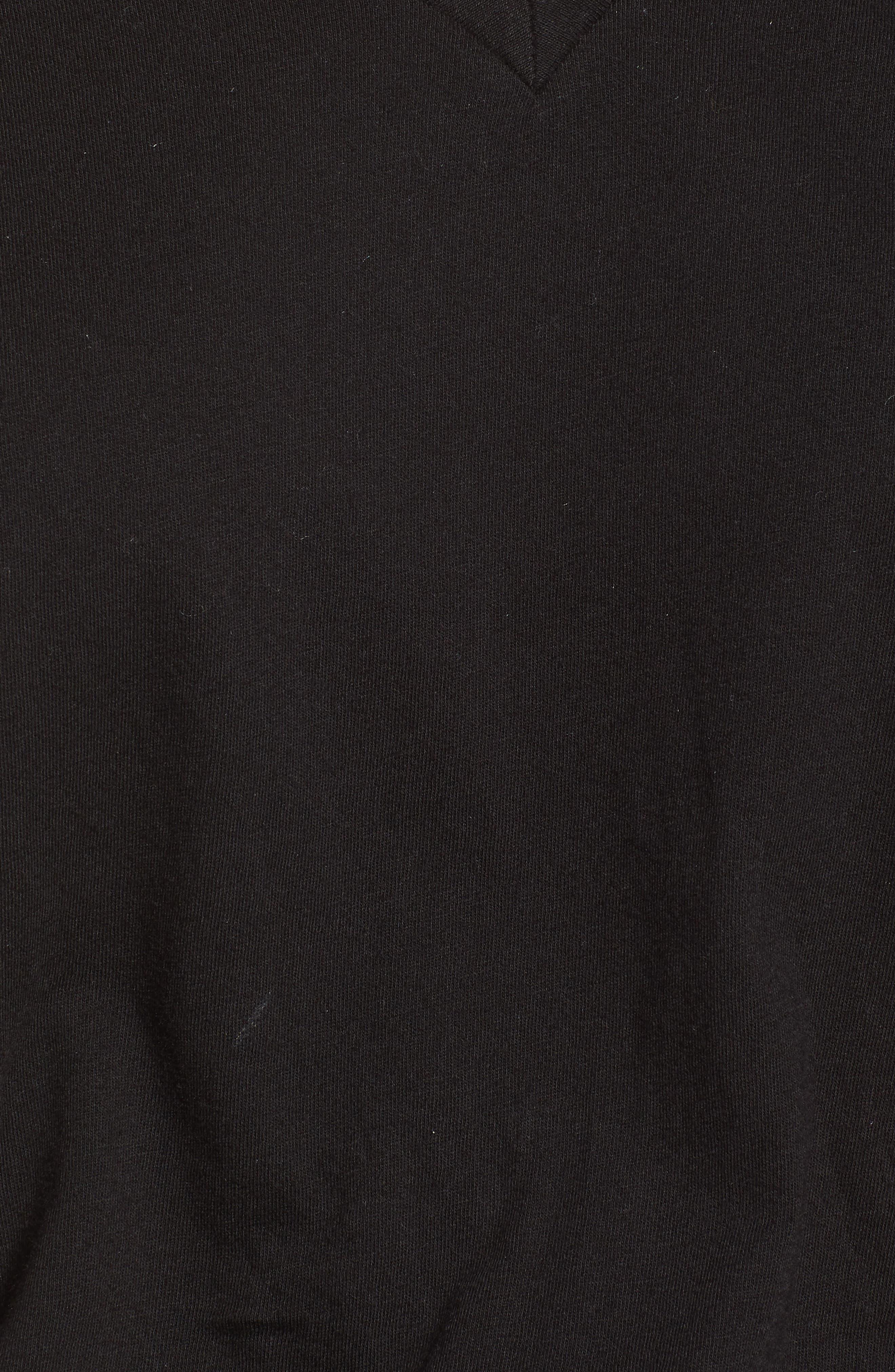 Breeze Cutout Romper,                             Alternate thumbnail 6, color,                             Black Cat