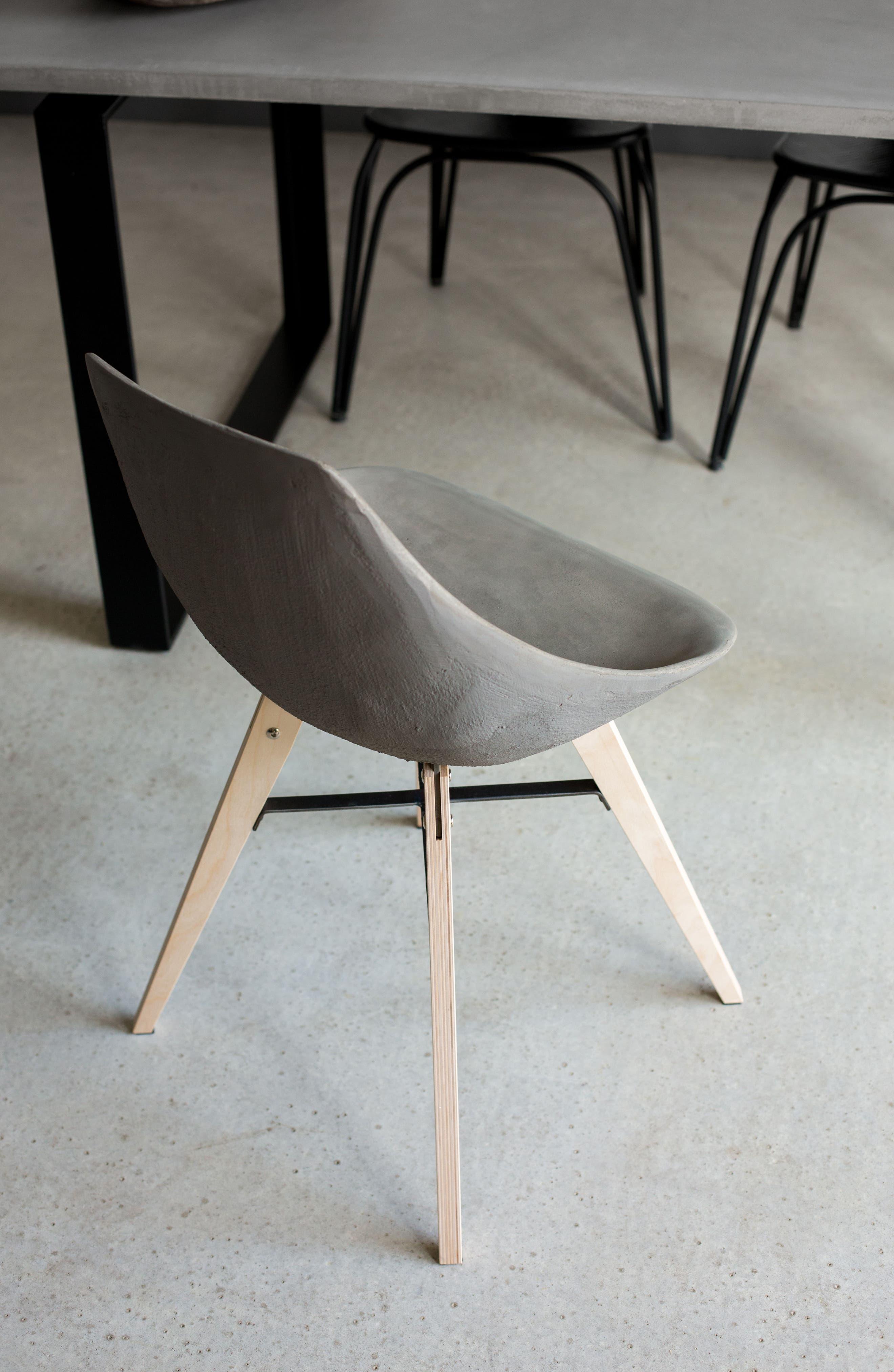 Lyon Béton Hauteville Chair,                             Alternate thumbnail 6, color,