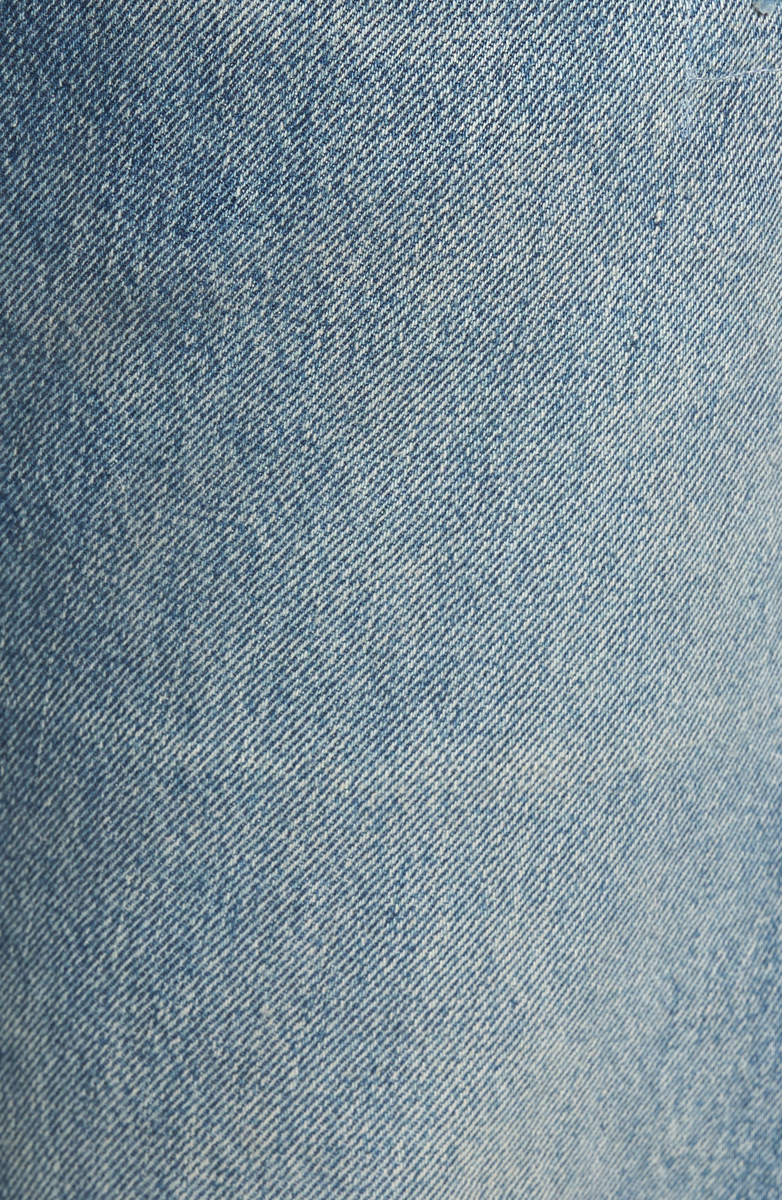 501<sup>®</sup> Original Straight Leg Jeans,                             Alternate thumbnail 5, color,                             Redwood Ave Selvedge