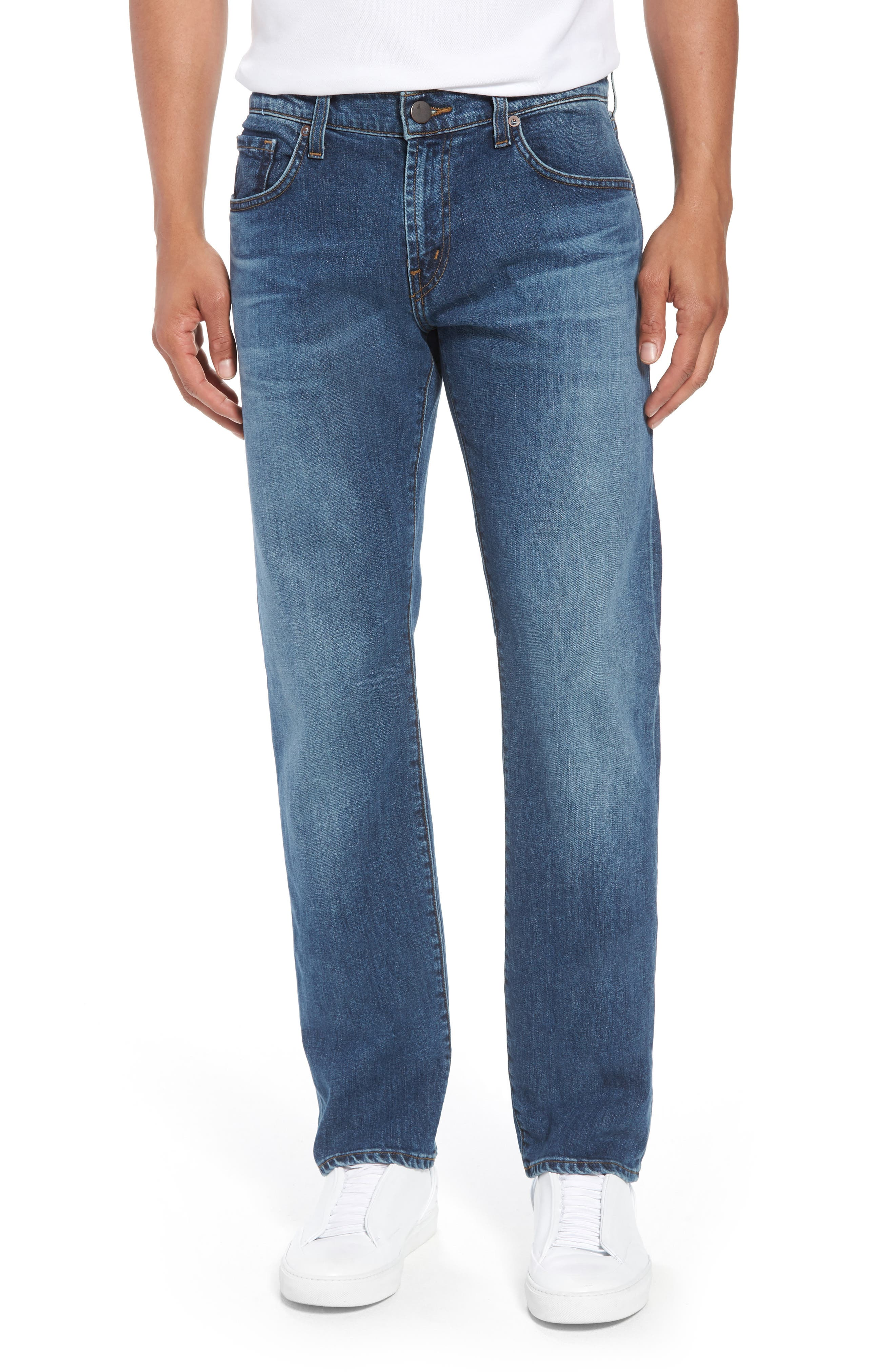 Kane Slim Straight Leg Jeans,                             Main thumbnail 1, color,                             Barva