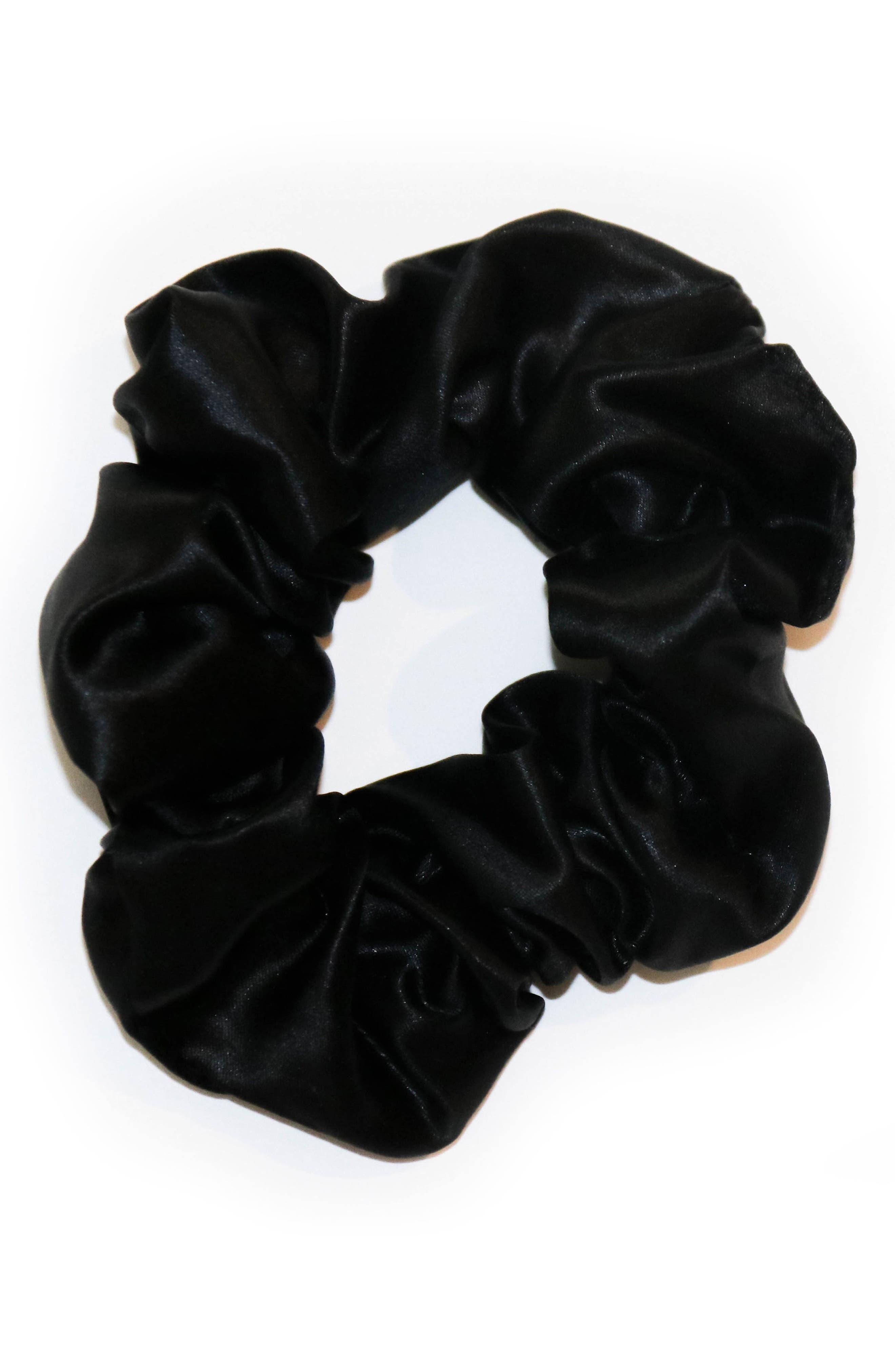 slip<sup>™</sup> for beauty sleep 3-Pack Slipsilk<sup>™</sup> Hair Ties,                             Alternate thumbnail 2, color,                             Black